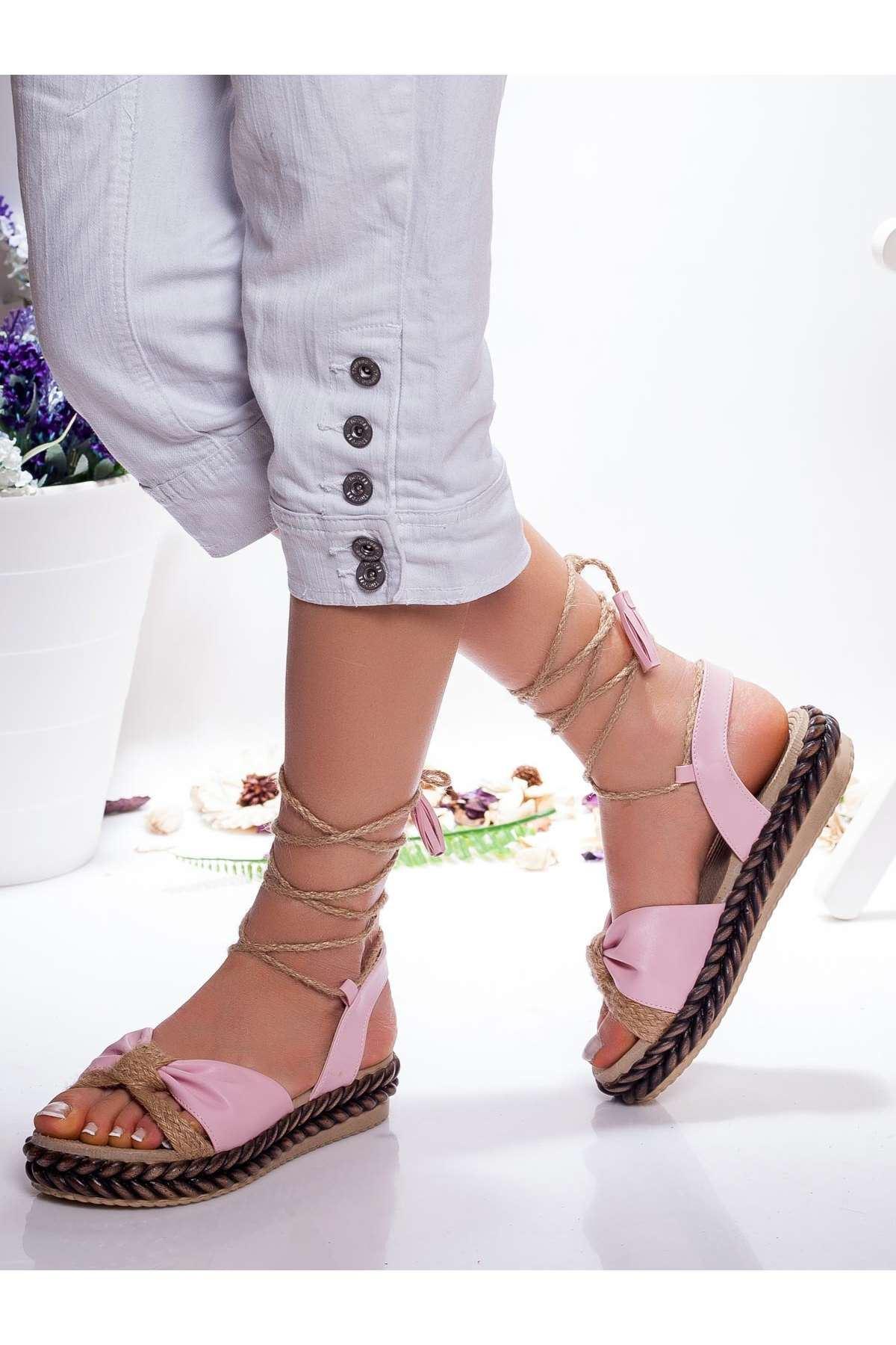 Ada Sandalet PEMBE
