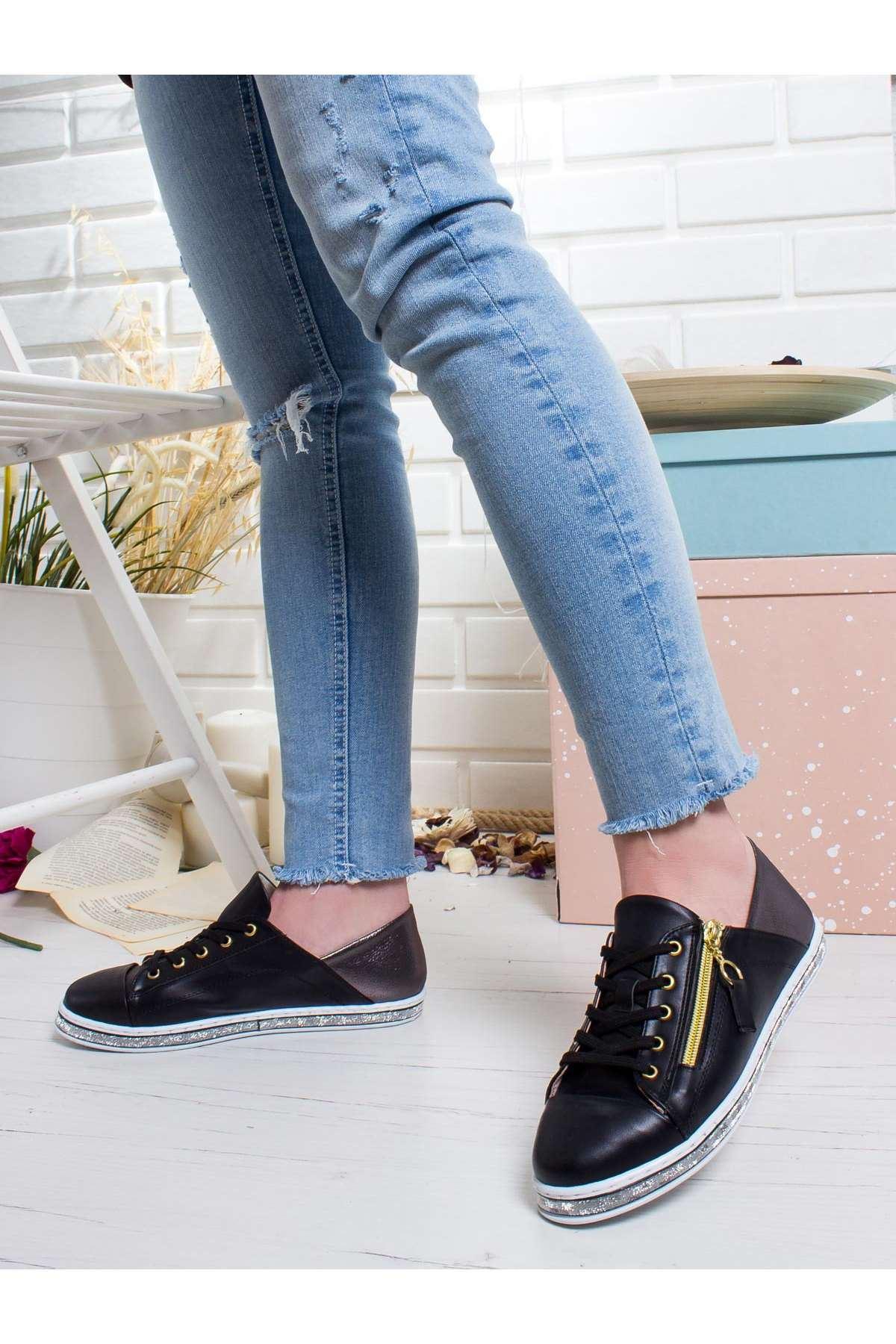 Amani Spor Ayakkabı SIYAH