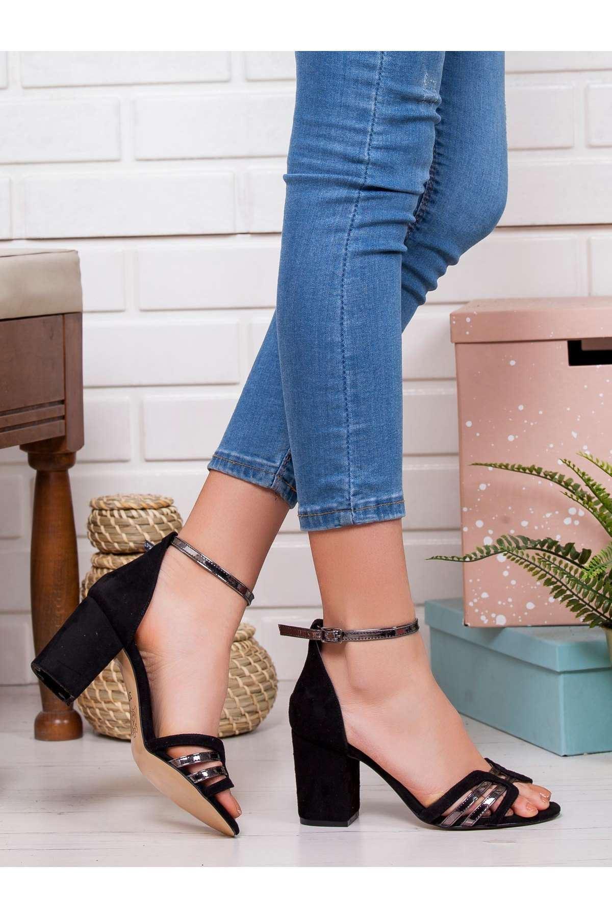 Darby Topuklu Ayakkabı SIYAH