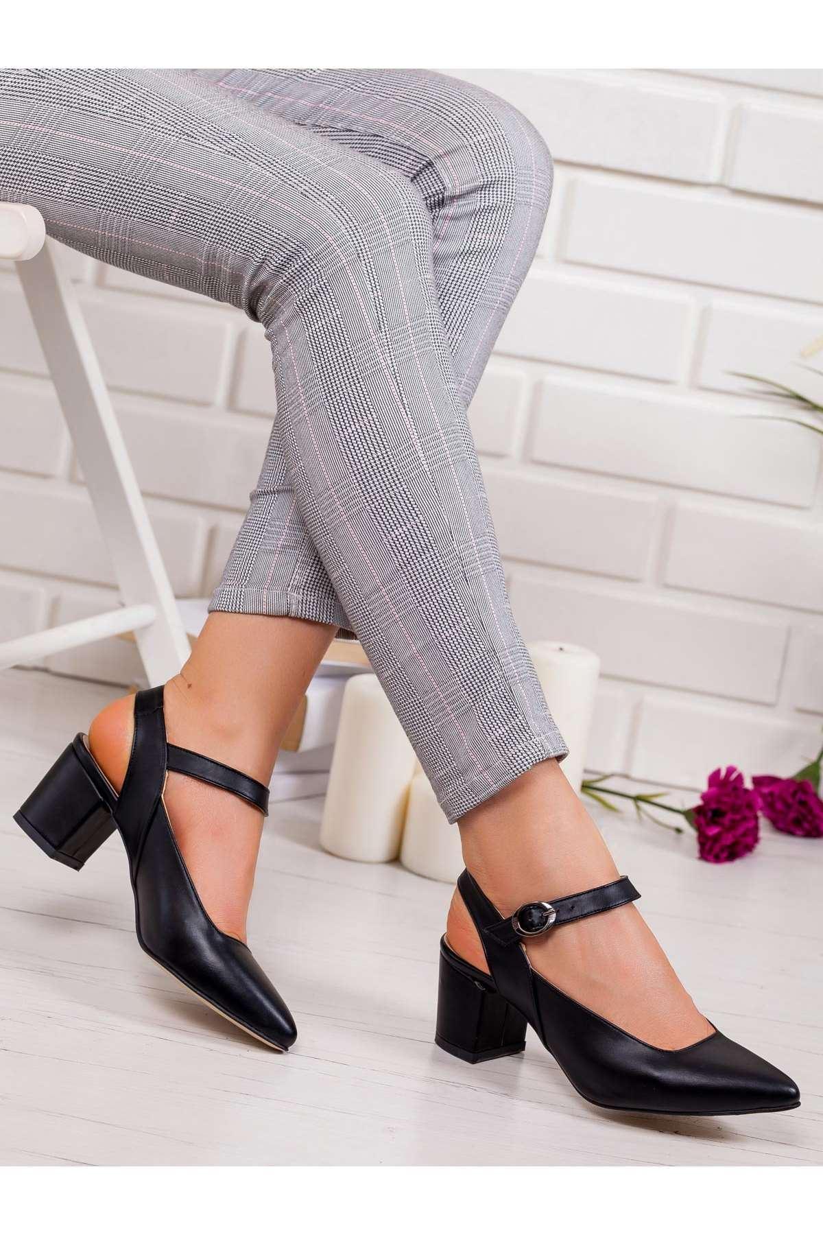 Dakata Topuklu Ayakkabı SIYAH