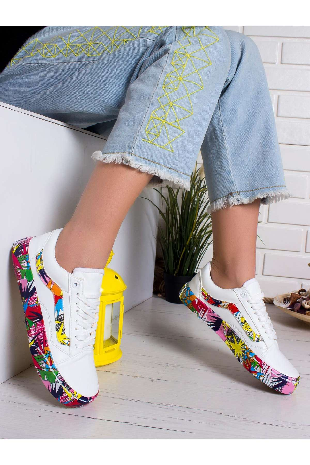 Daria Spor Ayakkabı BEYAZ