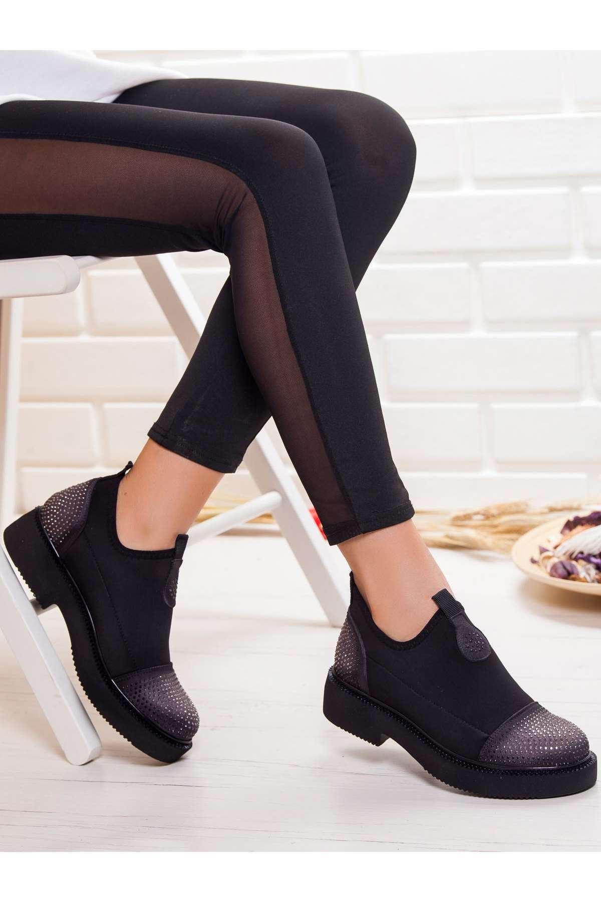 Devin Streç Ayakkabı GRI