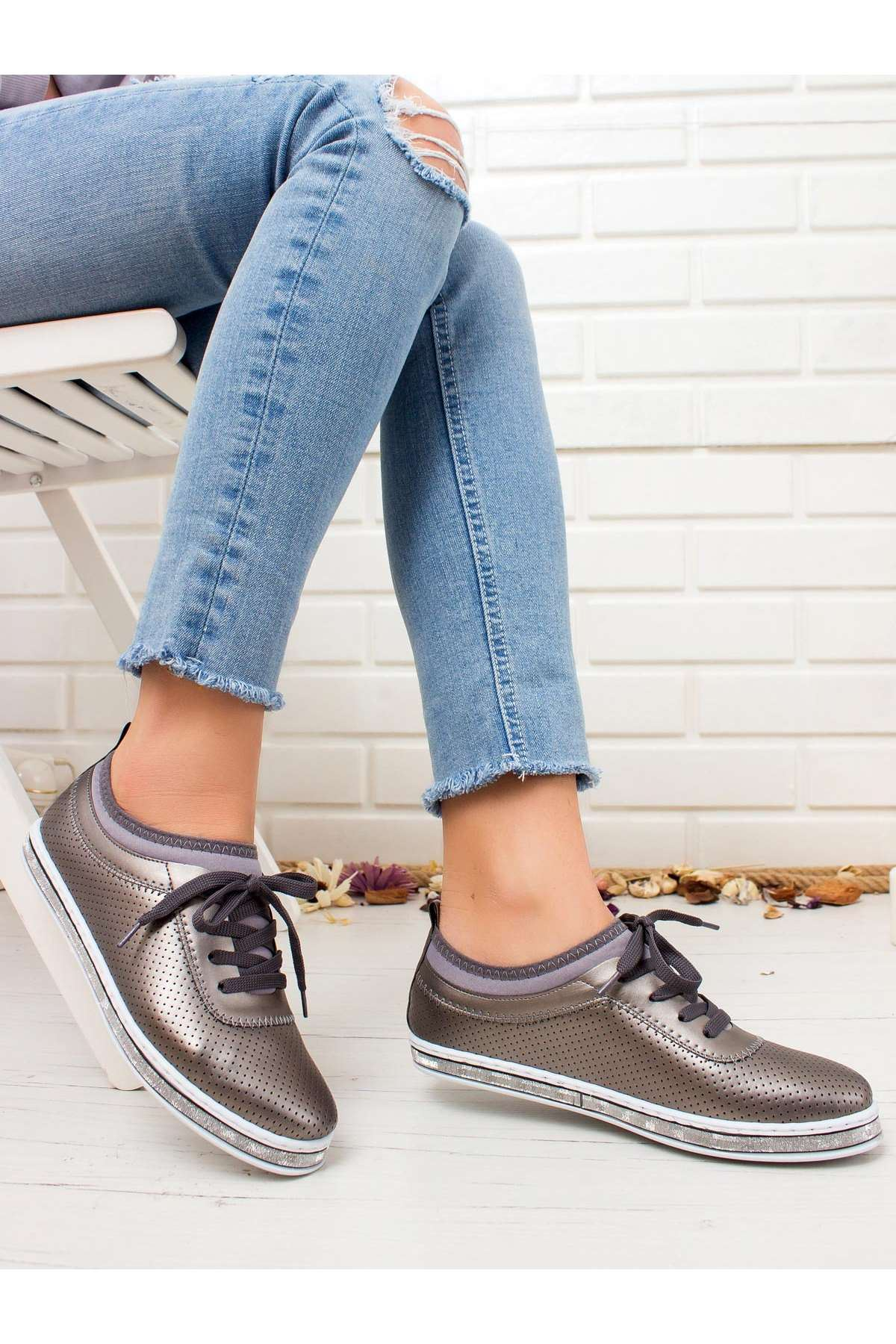 Ema Spor Ayakkabı PLATİN