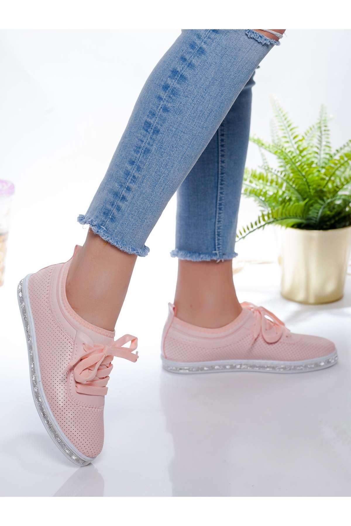 Ema Spor Ayakkabı PUDRA