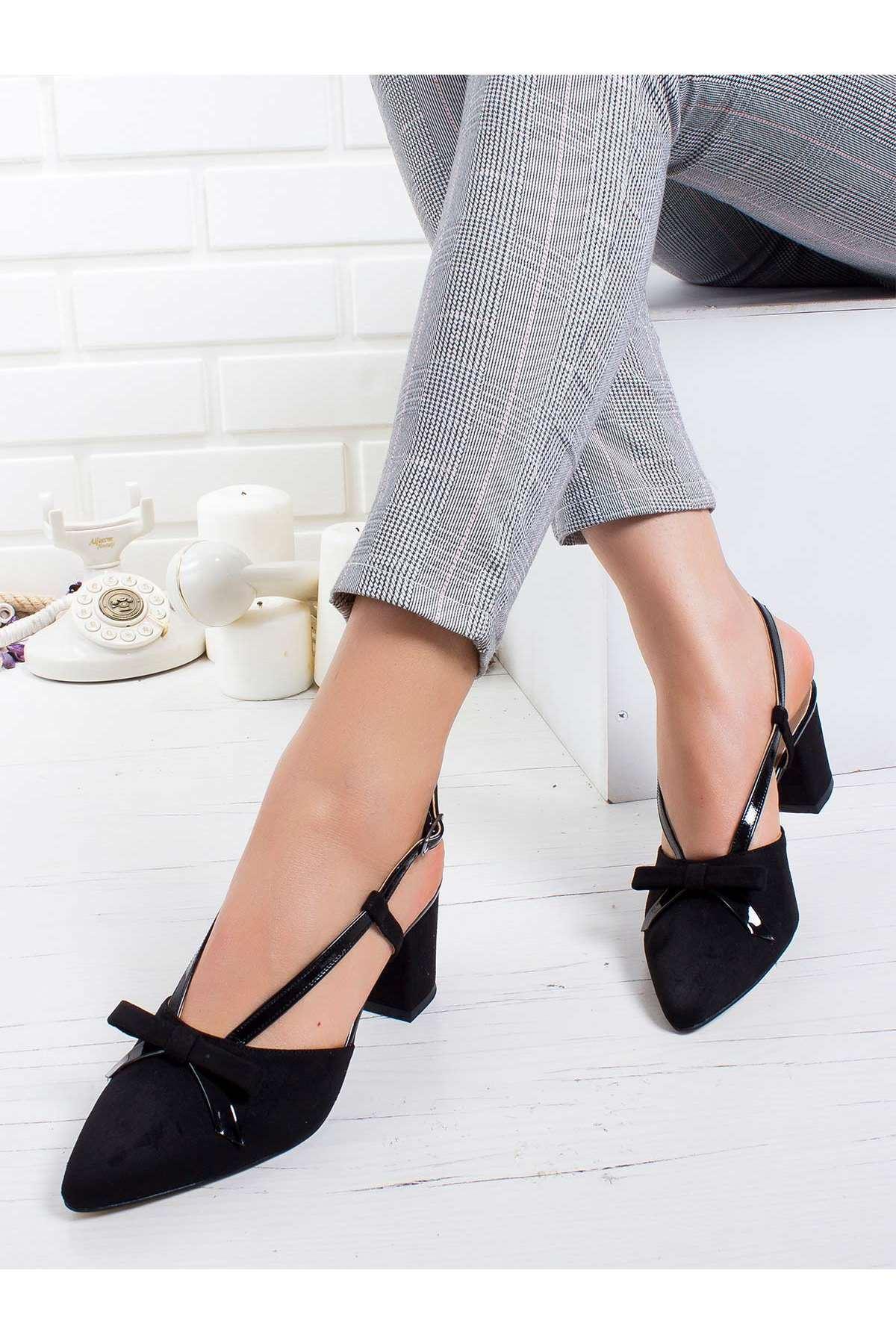 Felicia Topuklu Ayakkabı SIYAH