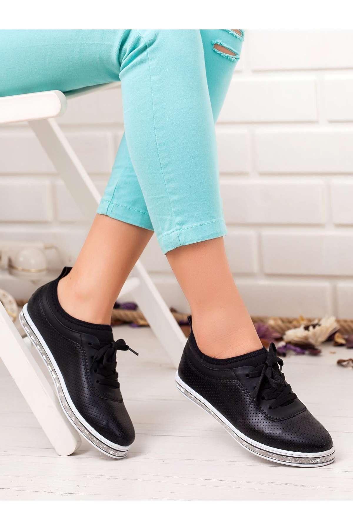 Ema Spor Ayakkabı SIYAH