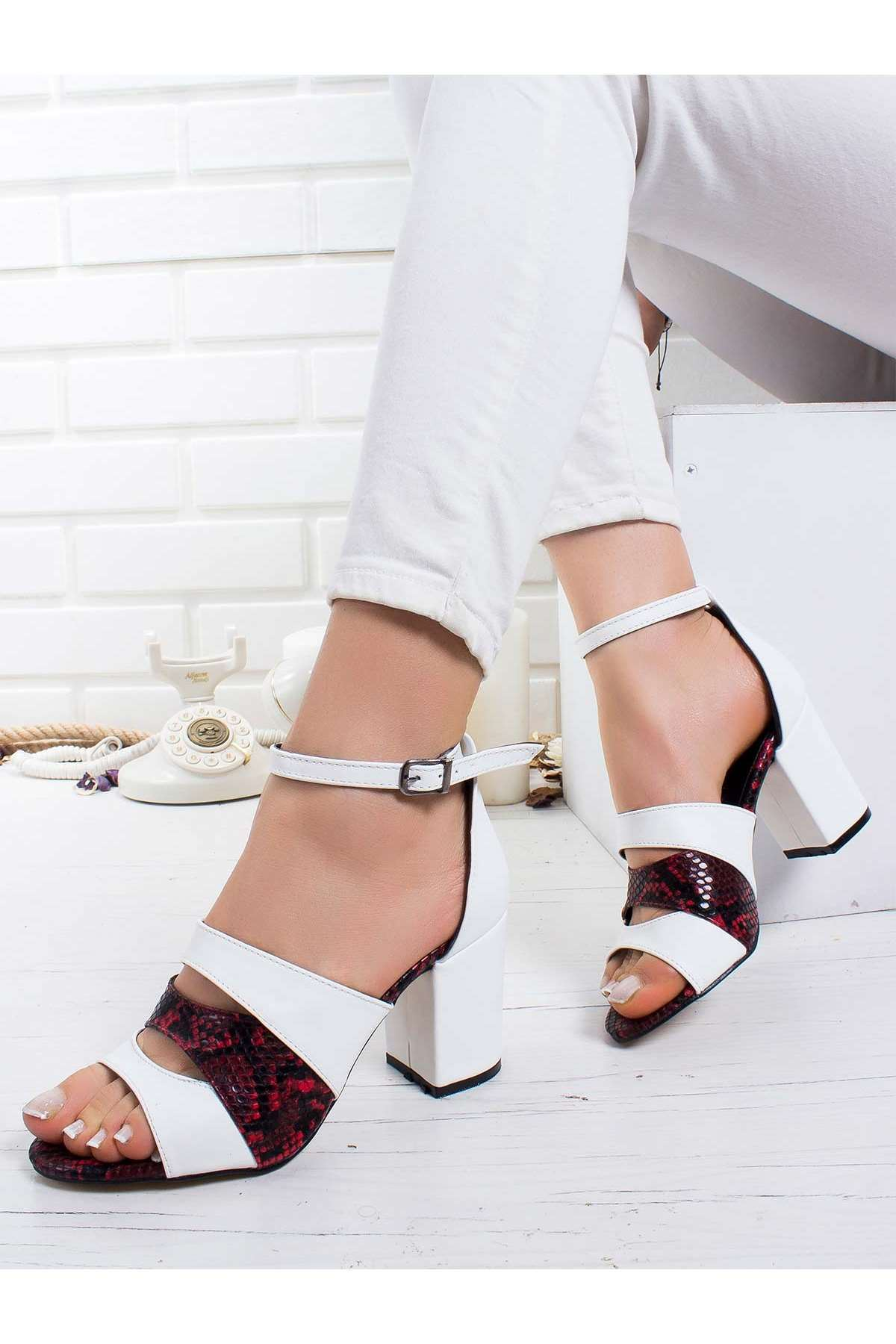 Maris Bebek Topuklu Ayakkabı BEYAZ
