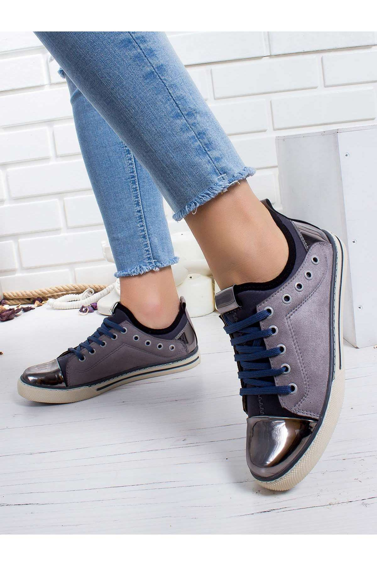 Nanni Spor Ayakkabı GRI