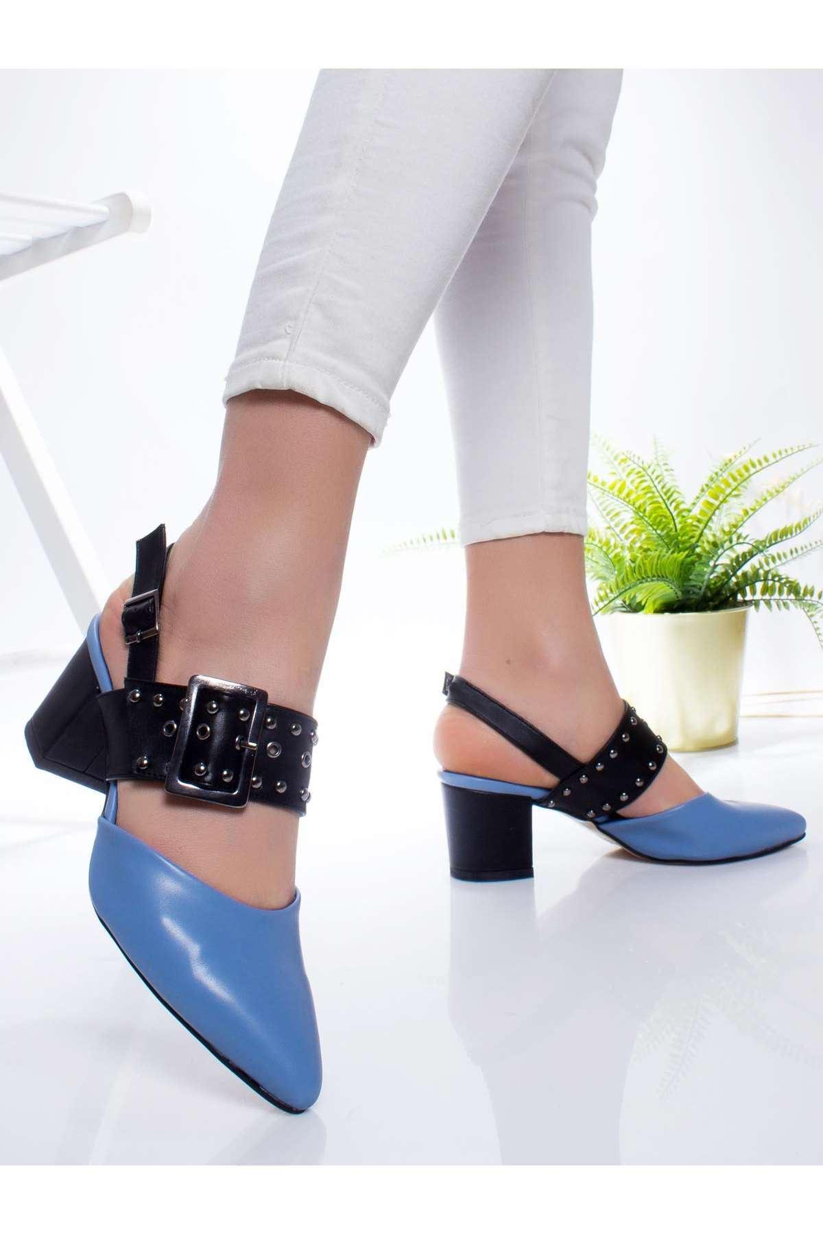 Lukas Topuklu Ayakkabı BEBE MAVİSİ