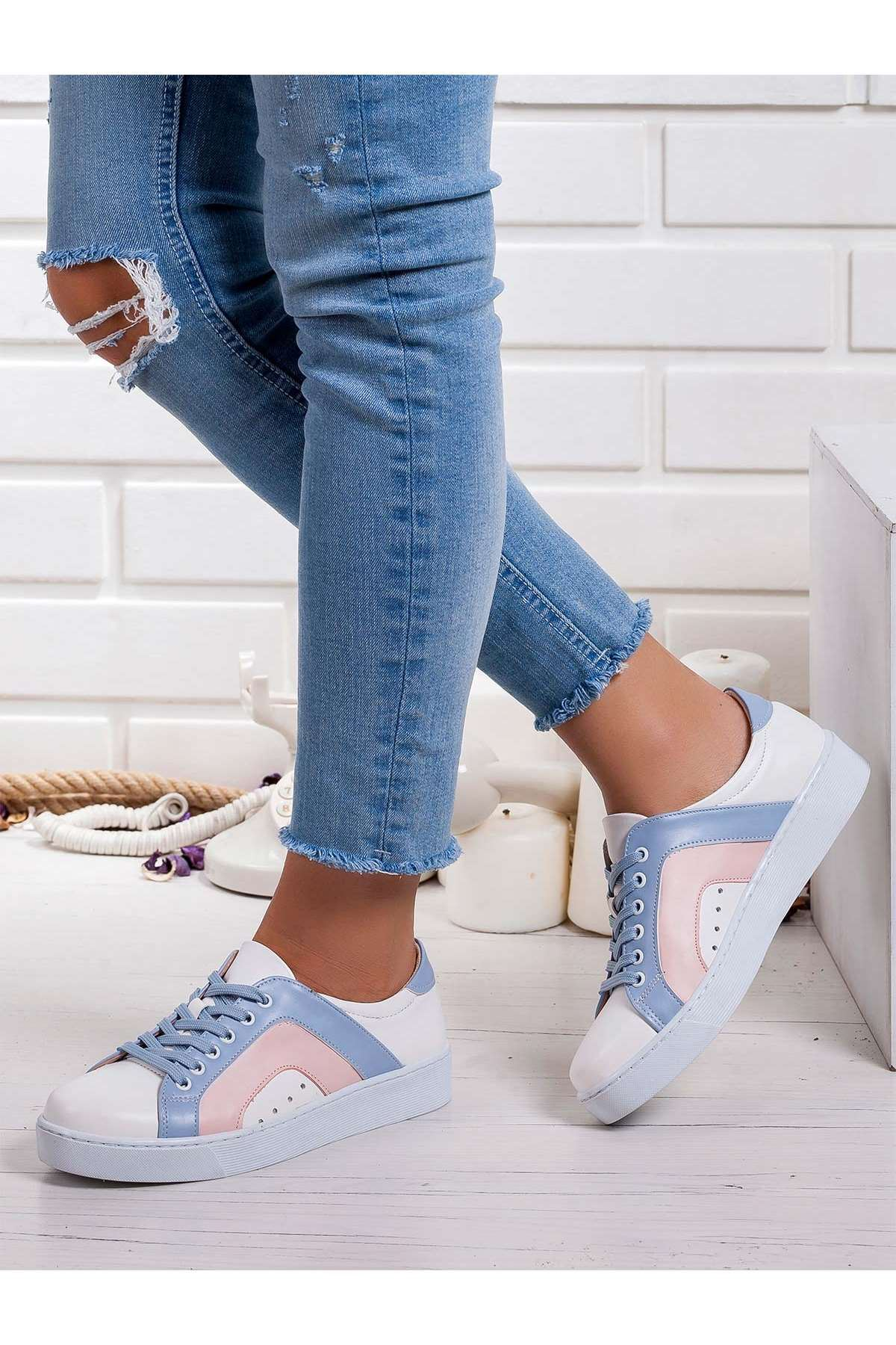 Vanni Spor Ayakkabı BEYAZ-MİXS