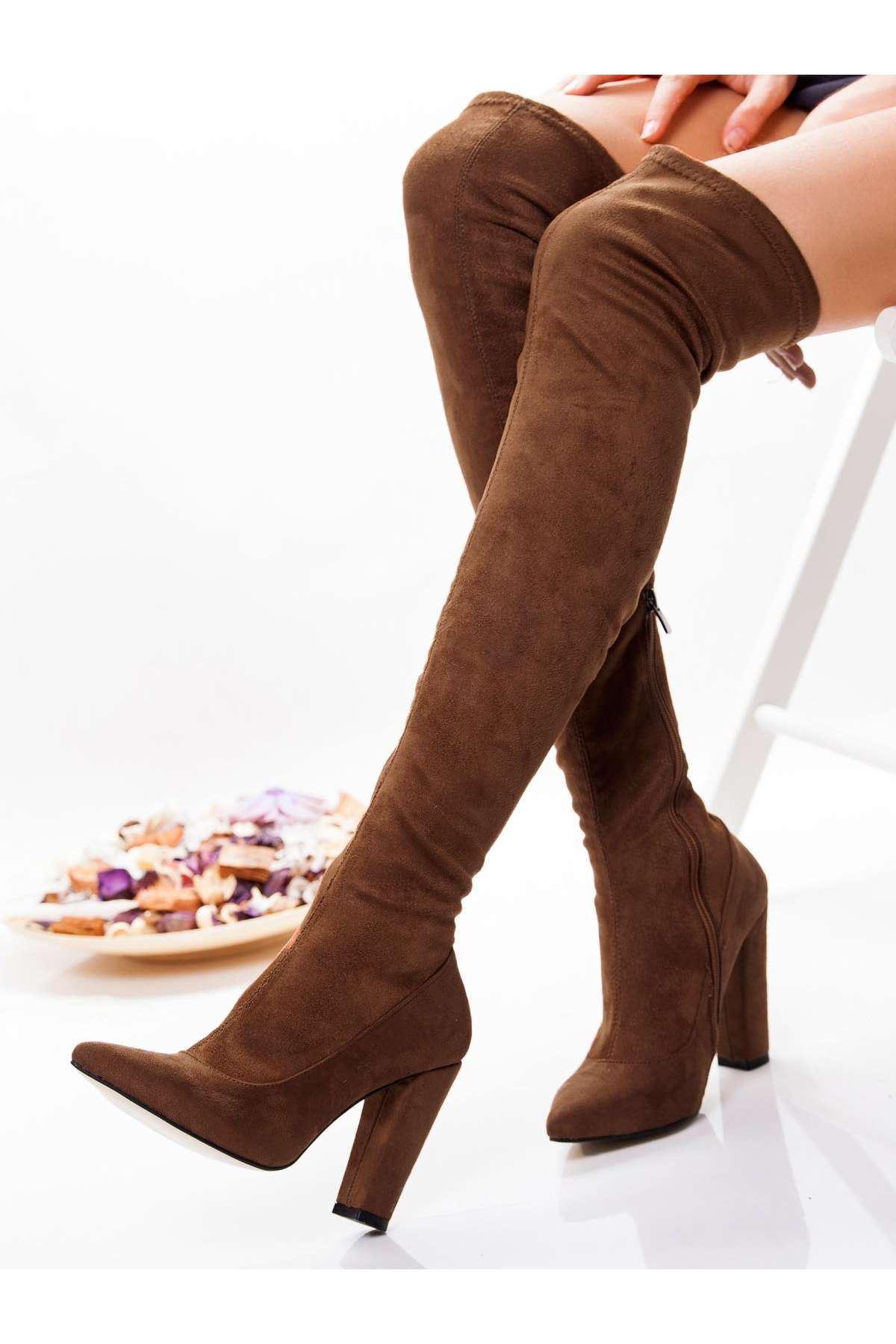 Bellanita Streç Çizme TABA