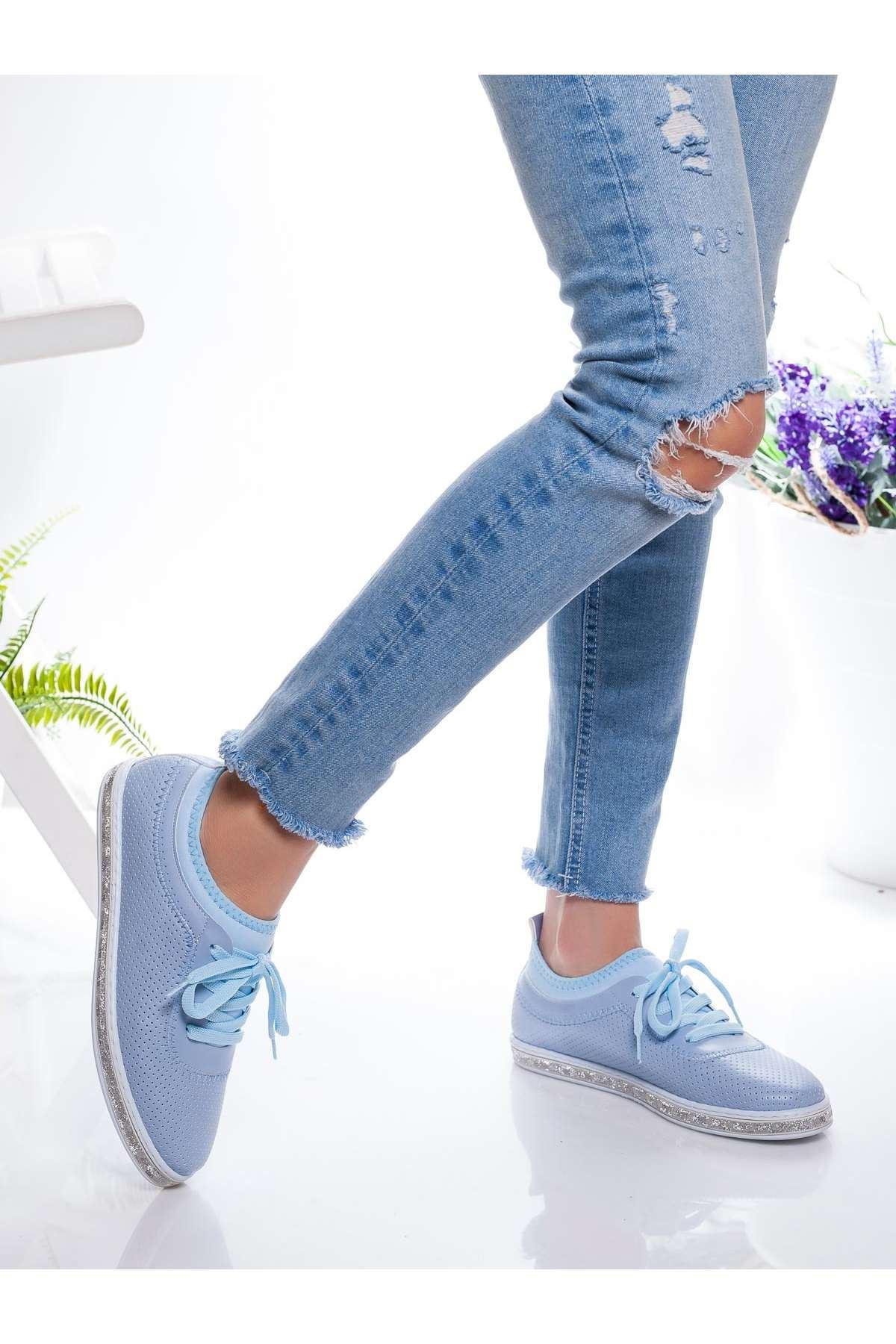 Ema Spor Ayakkabı BEBE MAVİSİ