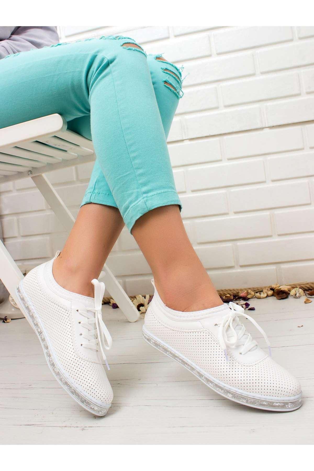 Ema Spor Ayakkabı BEYAZ