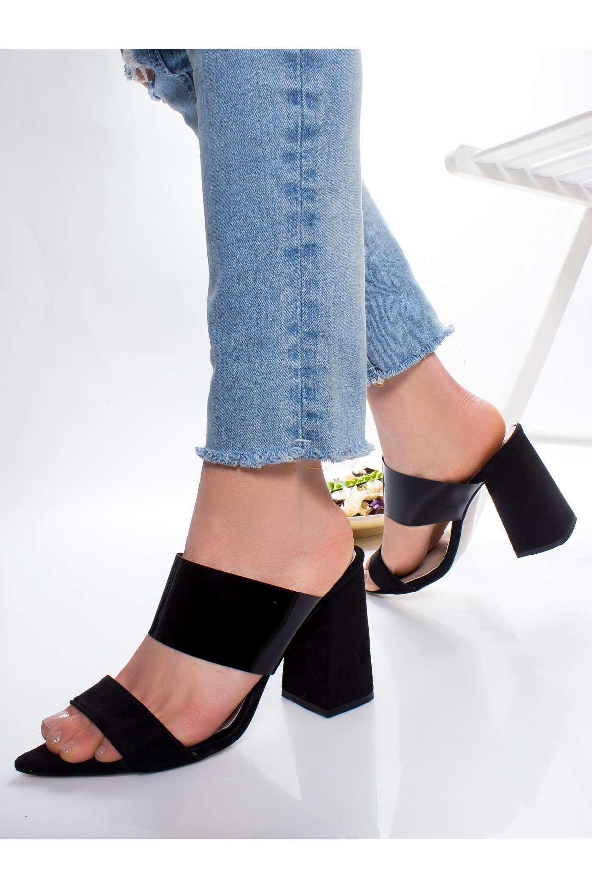 Ella Topuklu Ayakkabı SIYAH