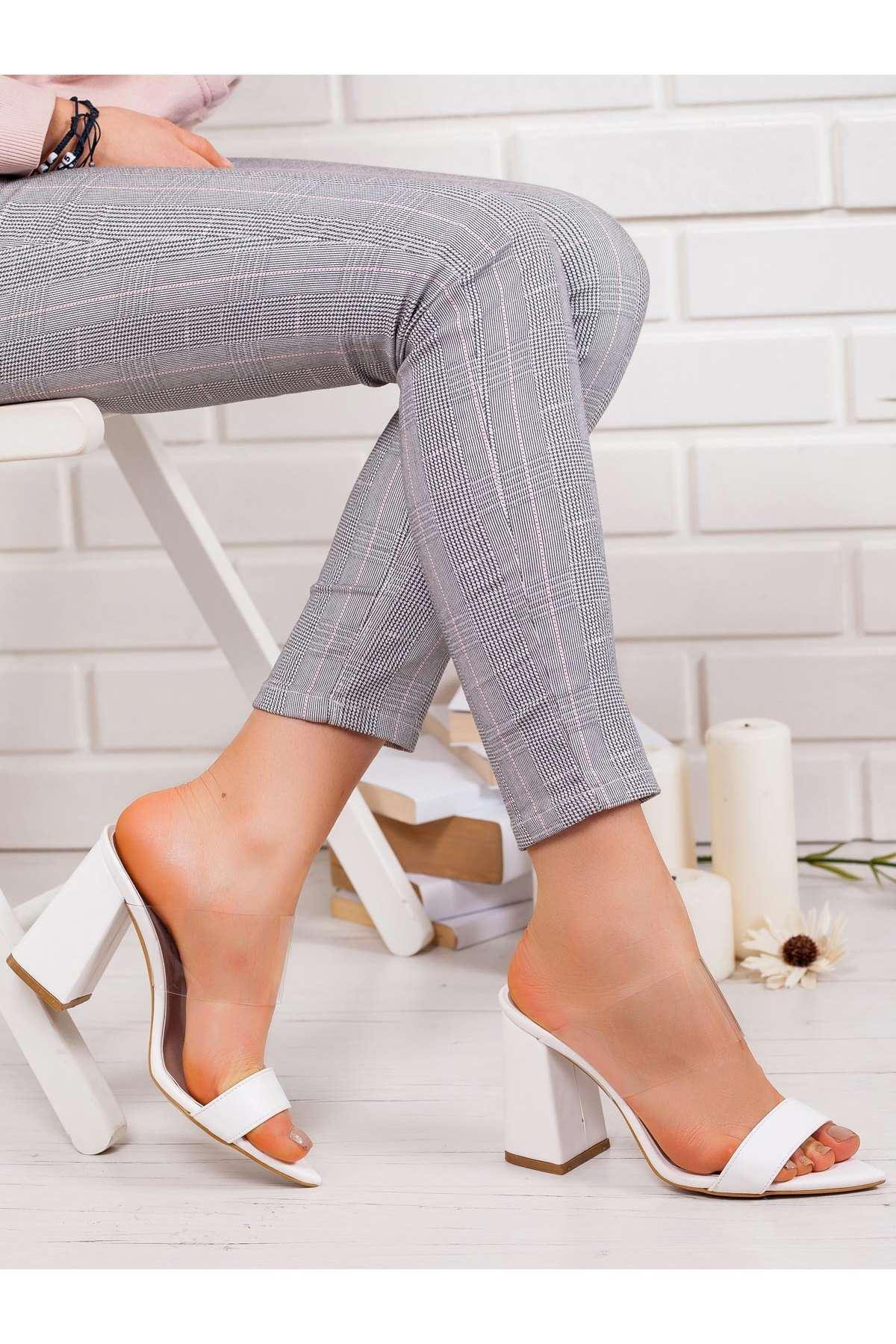 Ella Topuklu Ayakkabı BEYAZ