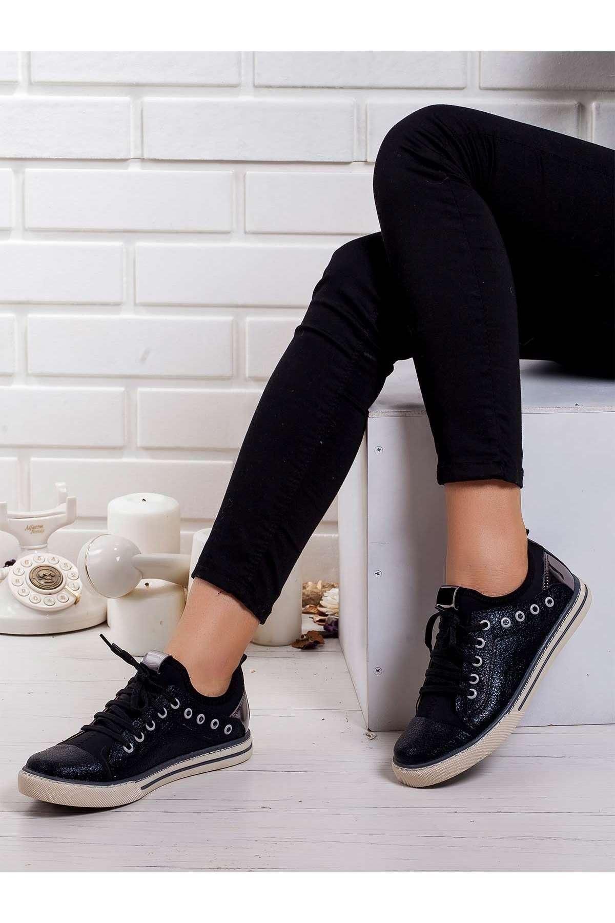 Nanni Spor Ayakkabı SIYAH