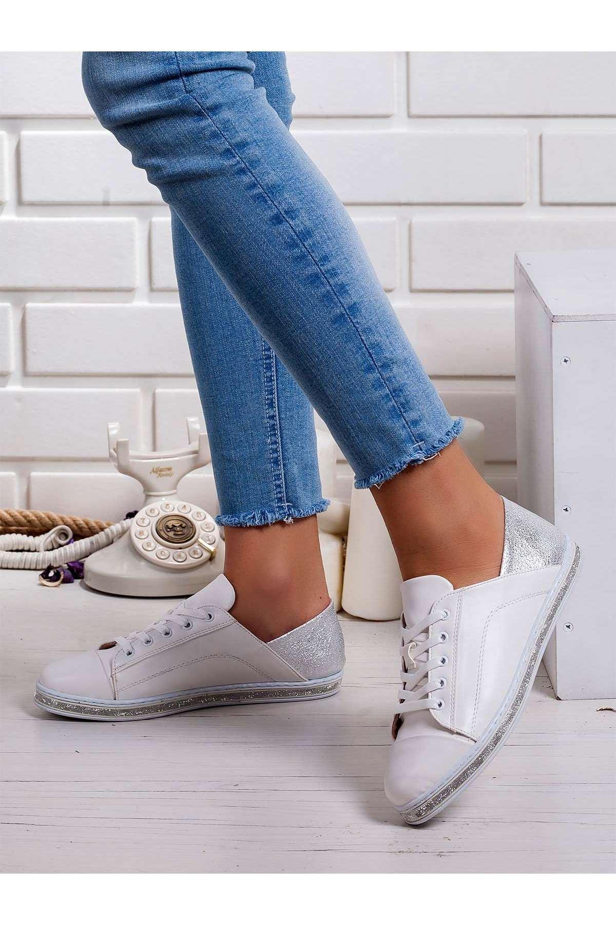Tekia Spor Ayakkabı BEYAZ