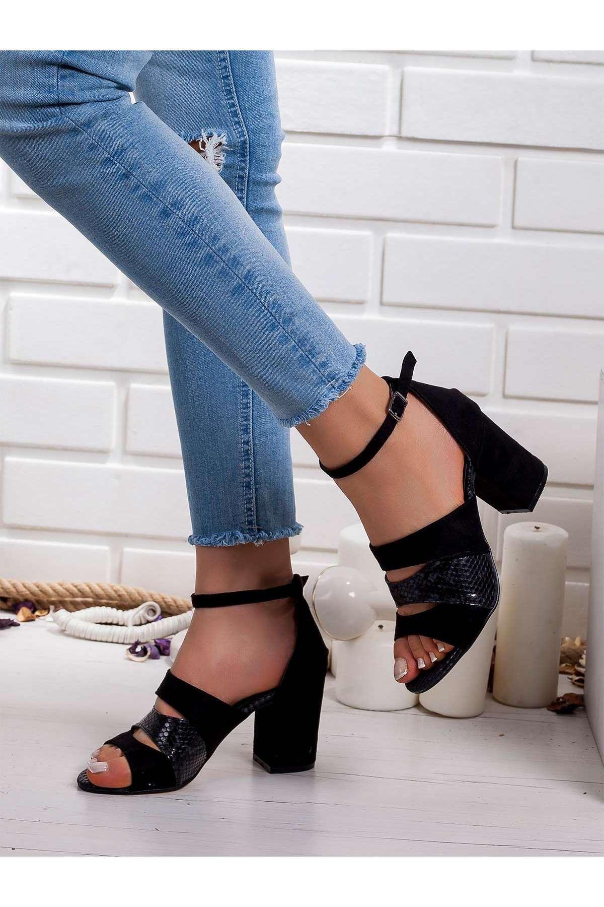 Maris Bebek Topuklu Ayakkabı SIYAH