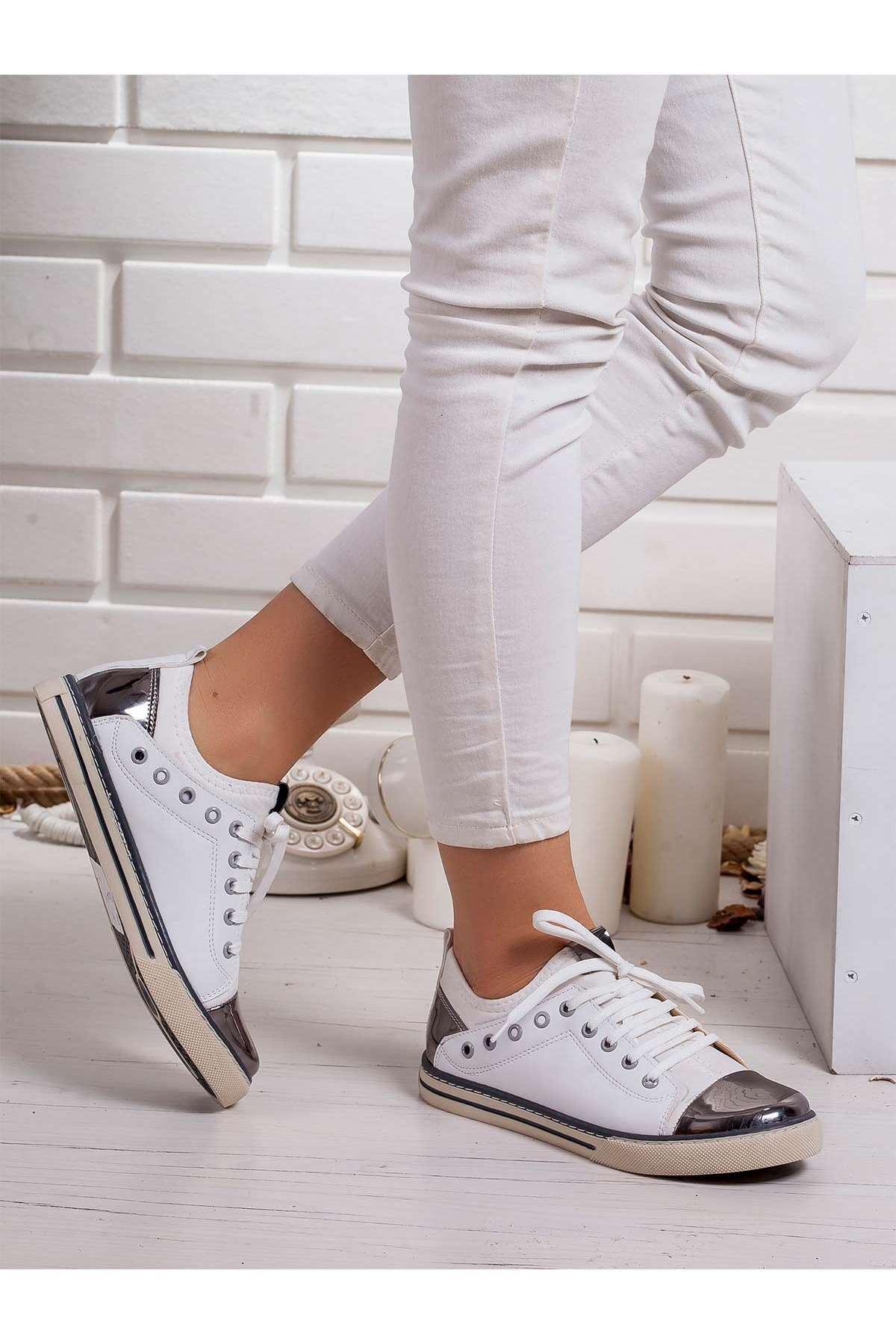 Nanni Spor Ayakkabı BEYAZ