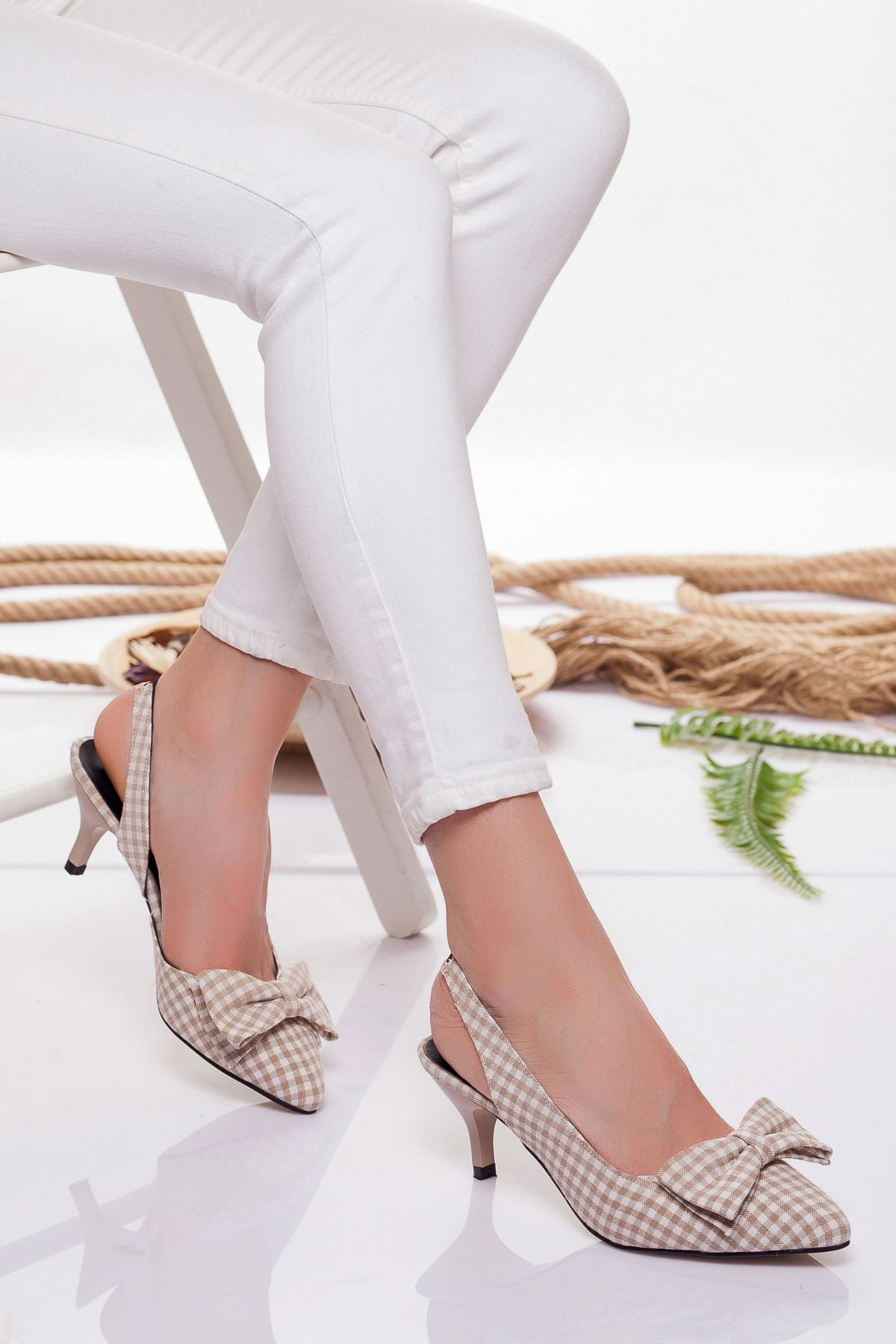 Berit Topuklu Ayakkabı TEN EKOSE