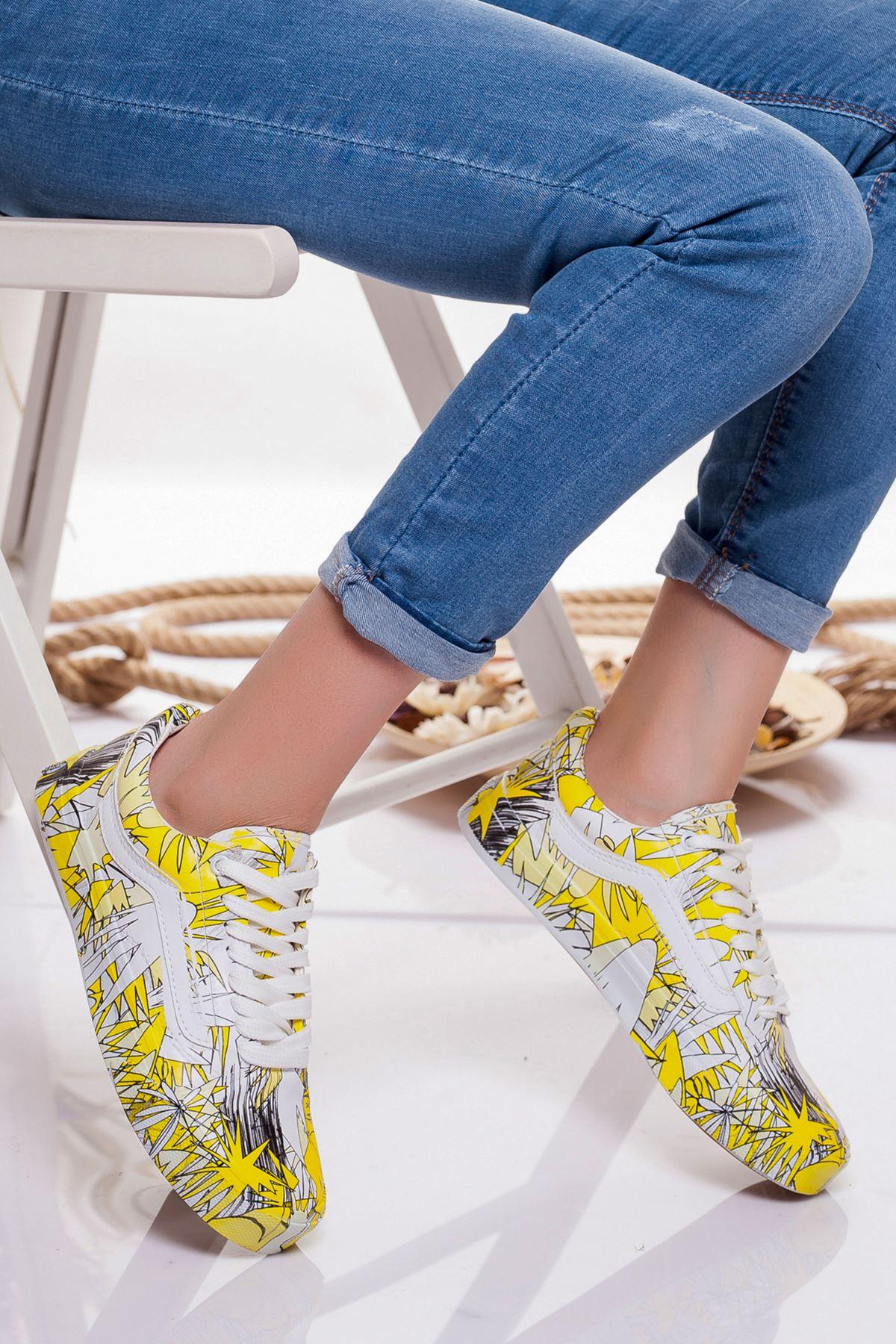 Eldora Spor Ayakkabı SARI