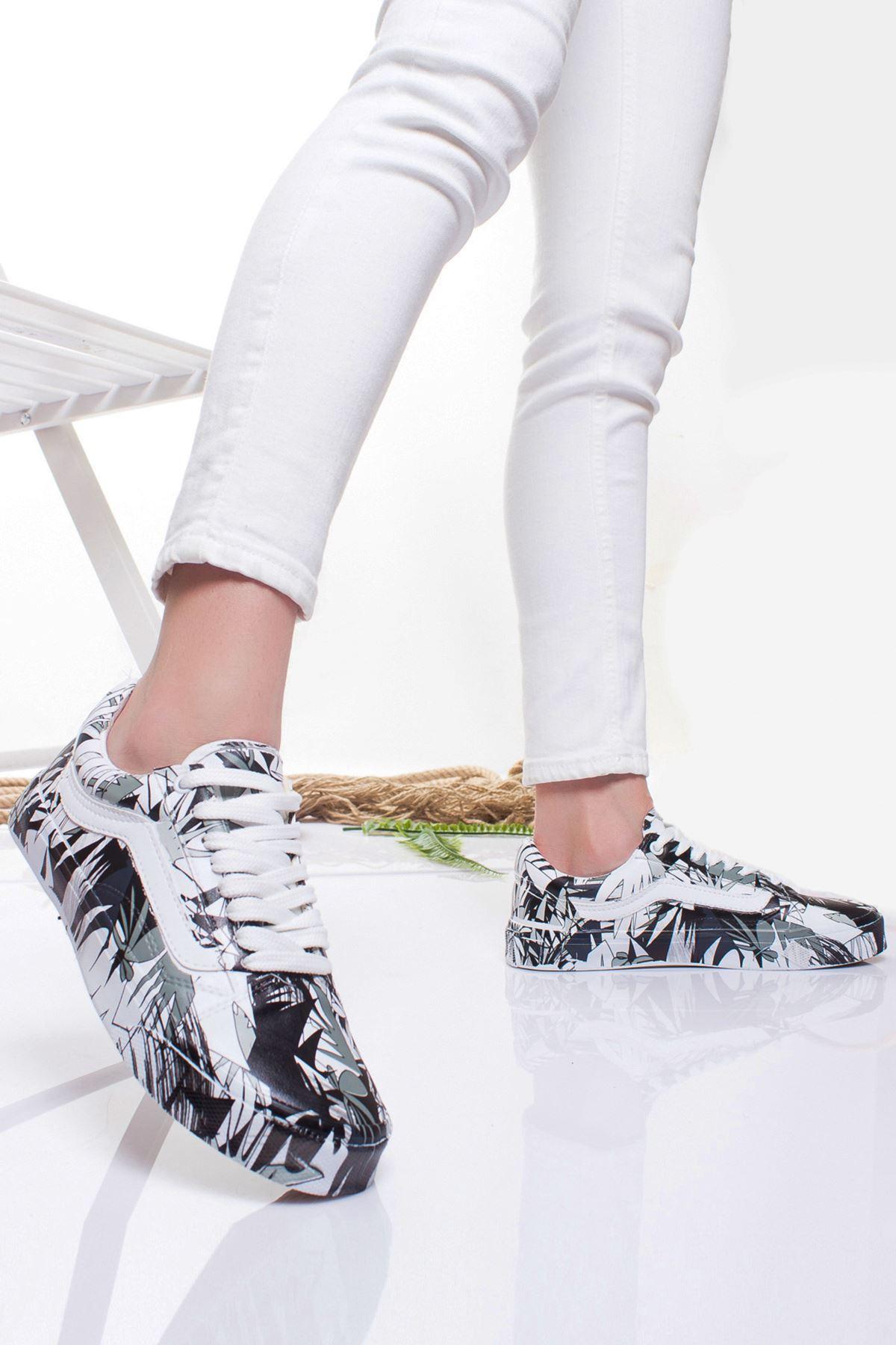 Eldora Spor Ayakkabı GRİ