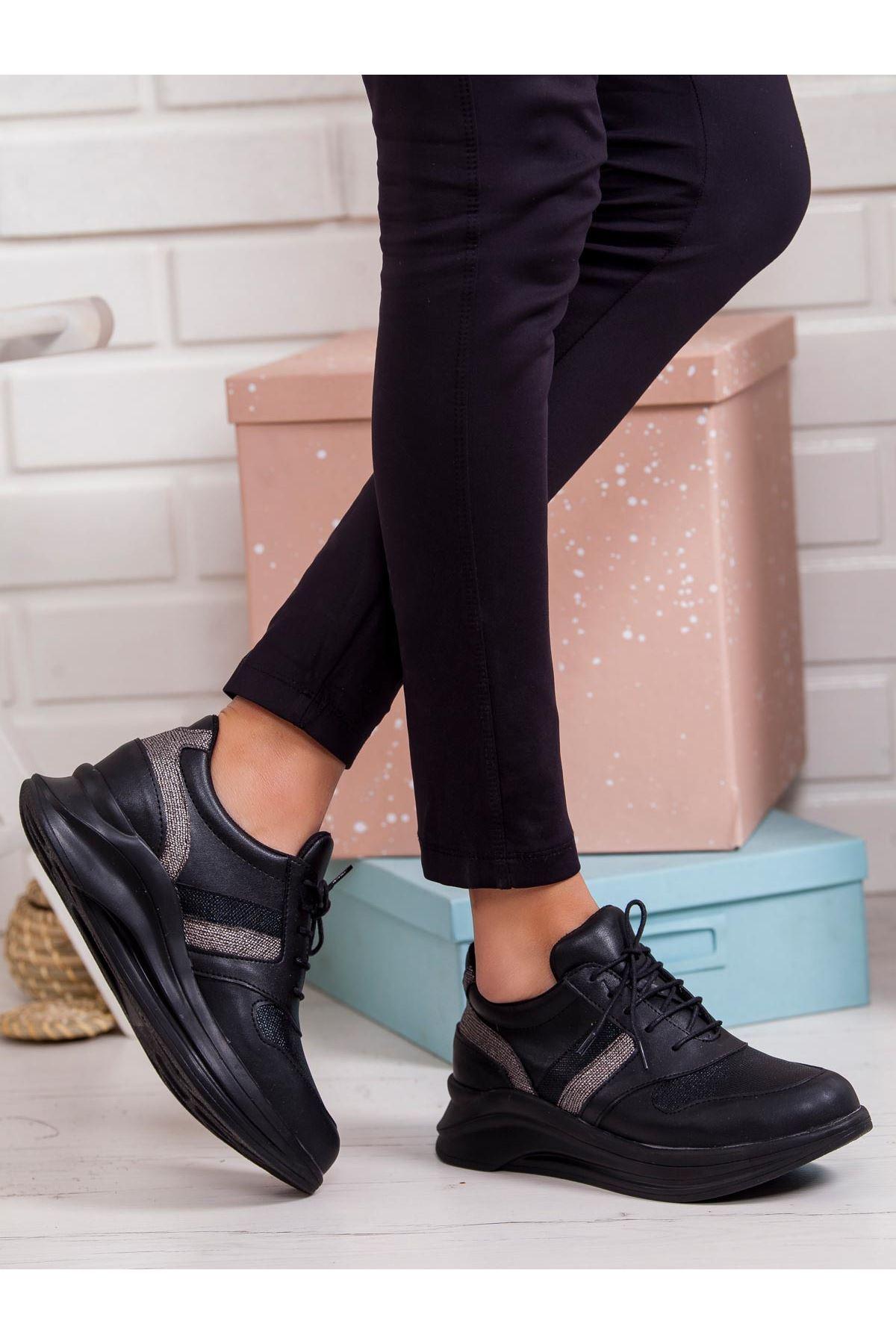 Sanita Spor Ayakkabı SIYAH
