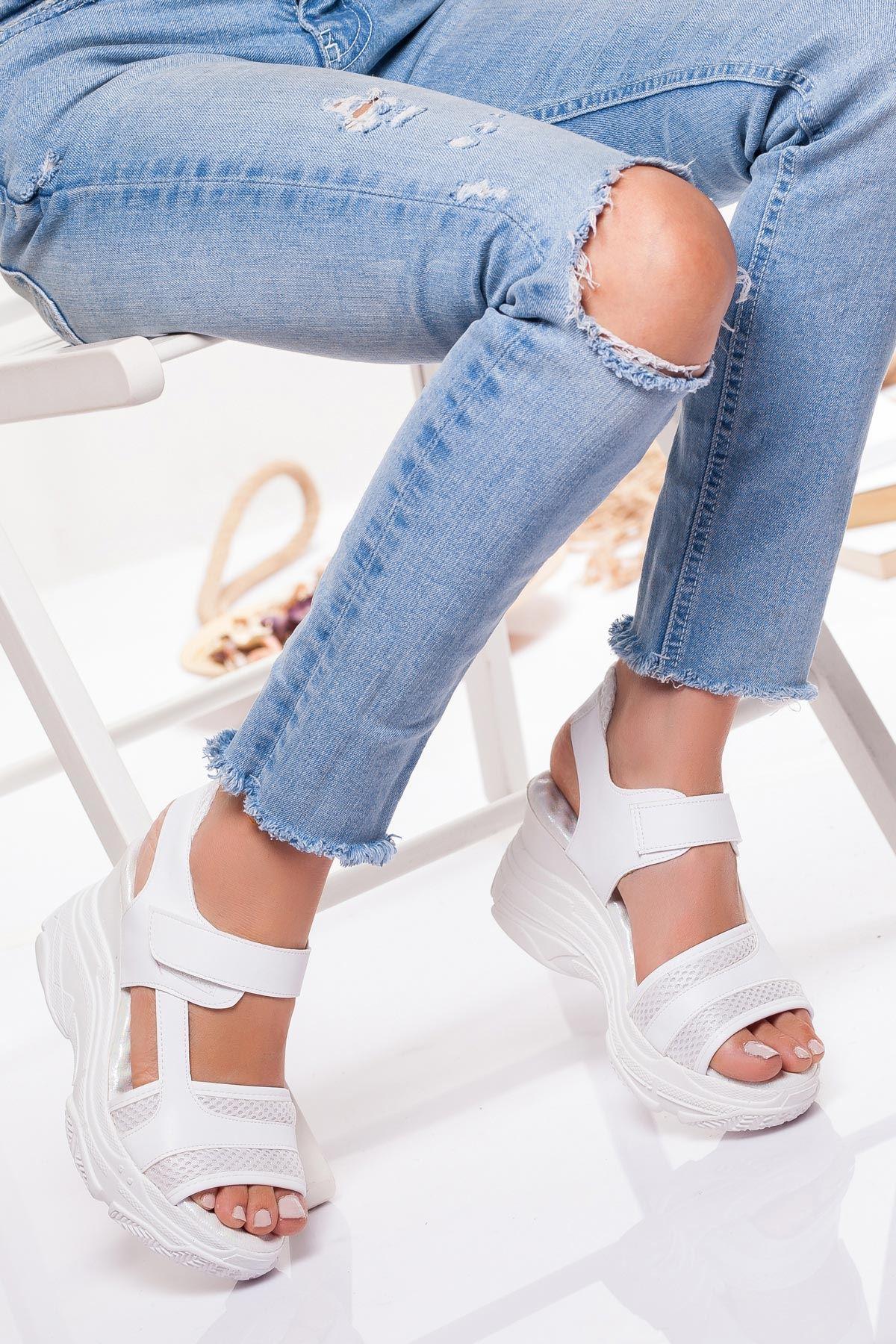 İnova Sandalet BEYAZ