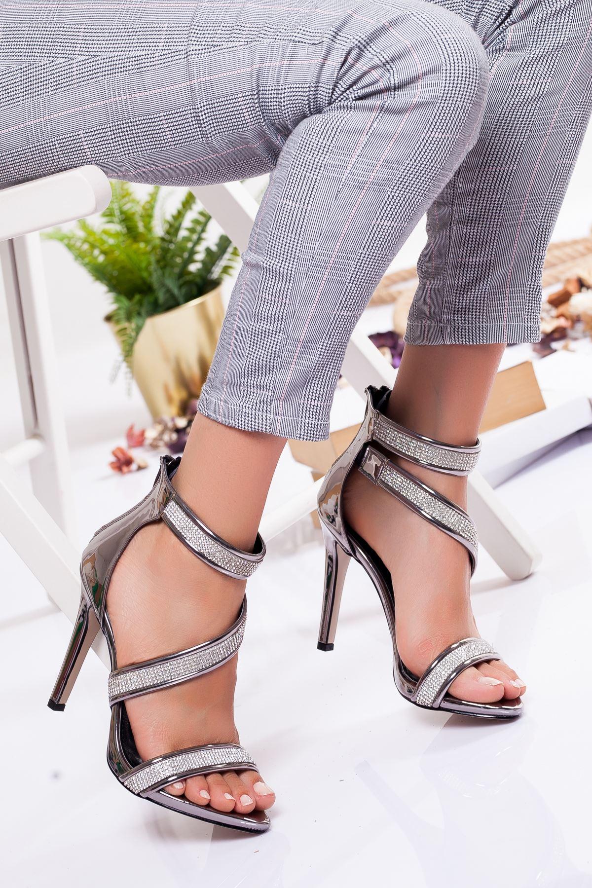 Grace Platform Ayakkabı PLATİN
