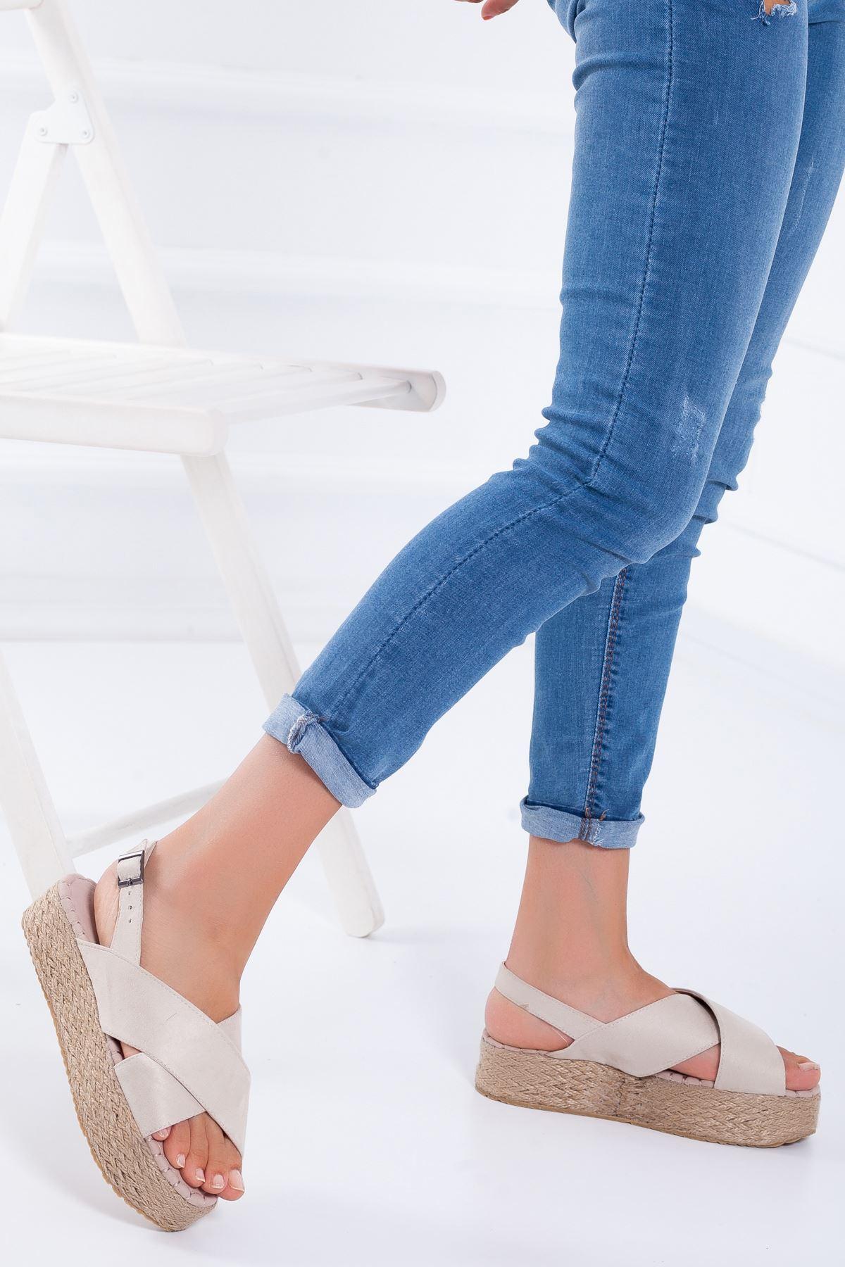 Cerise Sandalet TEN SÜET