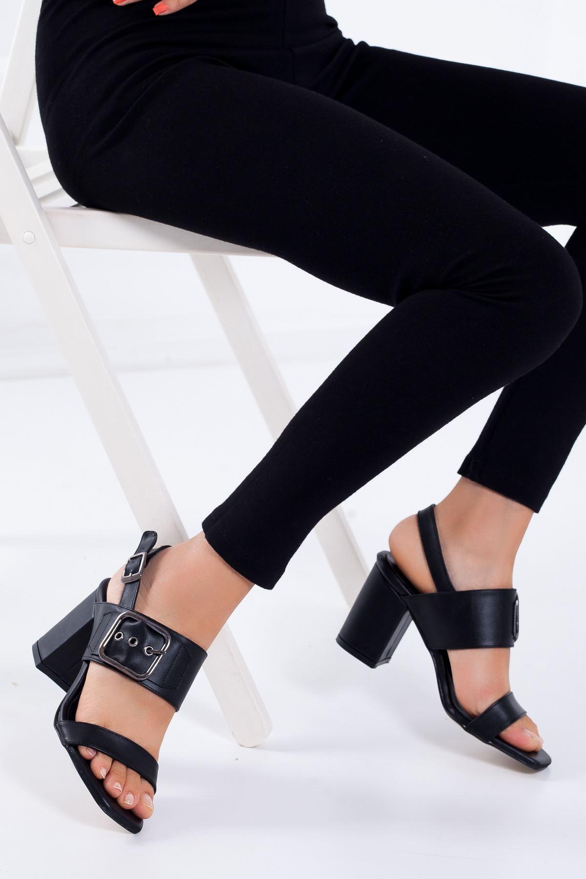 Dina Topuklu Ayakkabı SIYAH