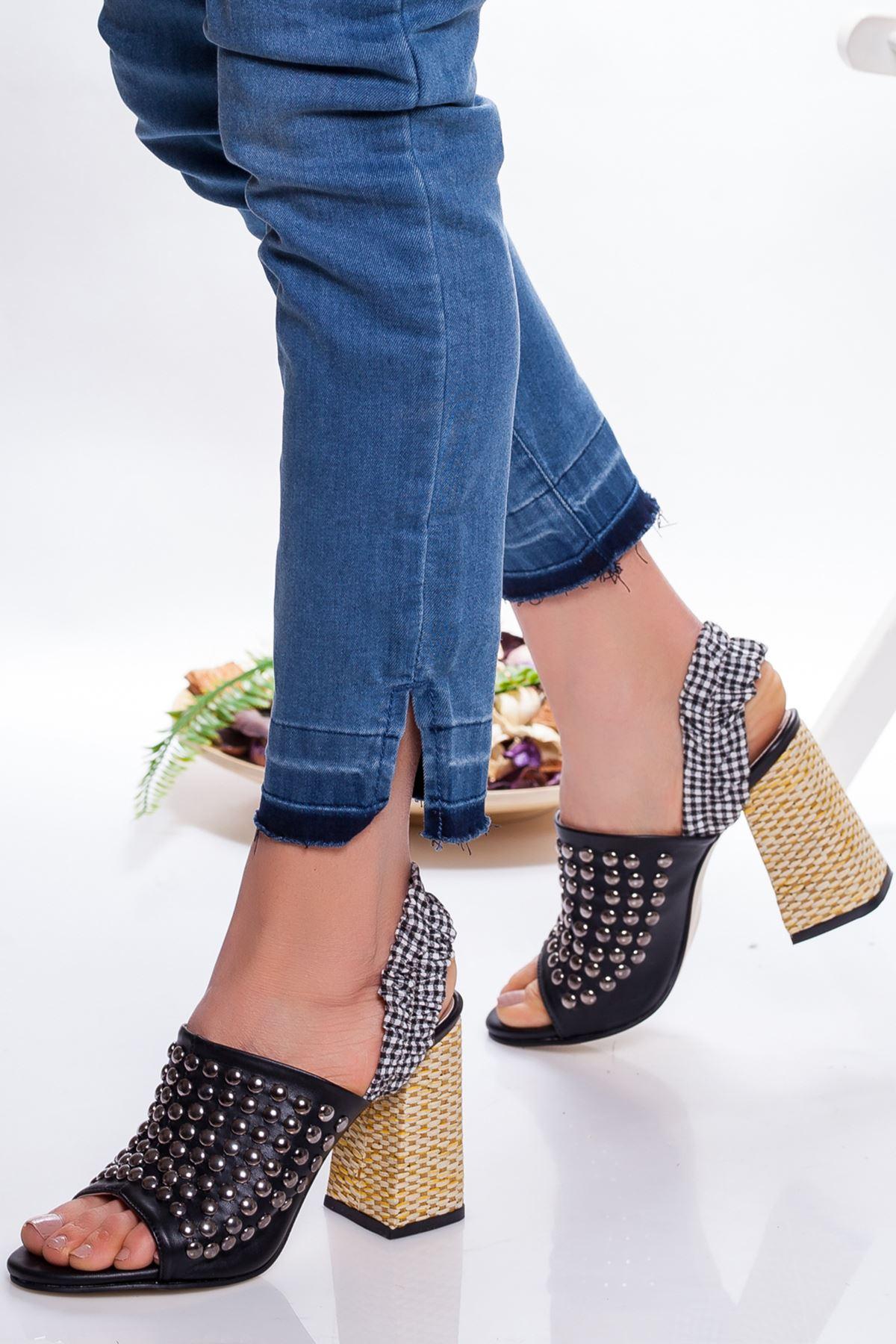 Gina Topuklu Ayakkabı SIYAH