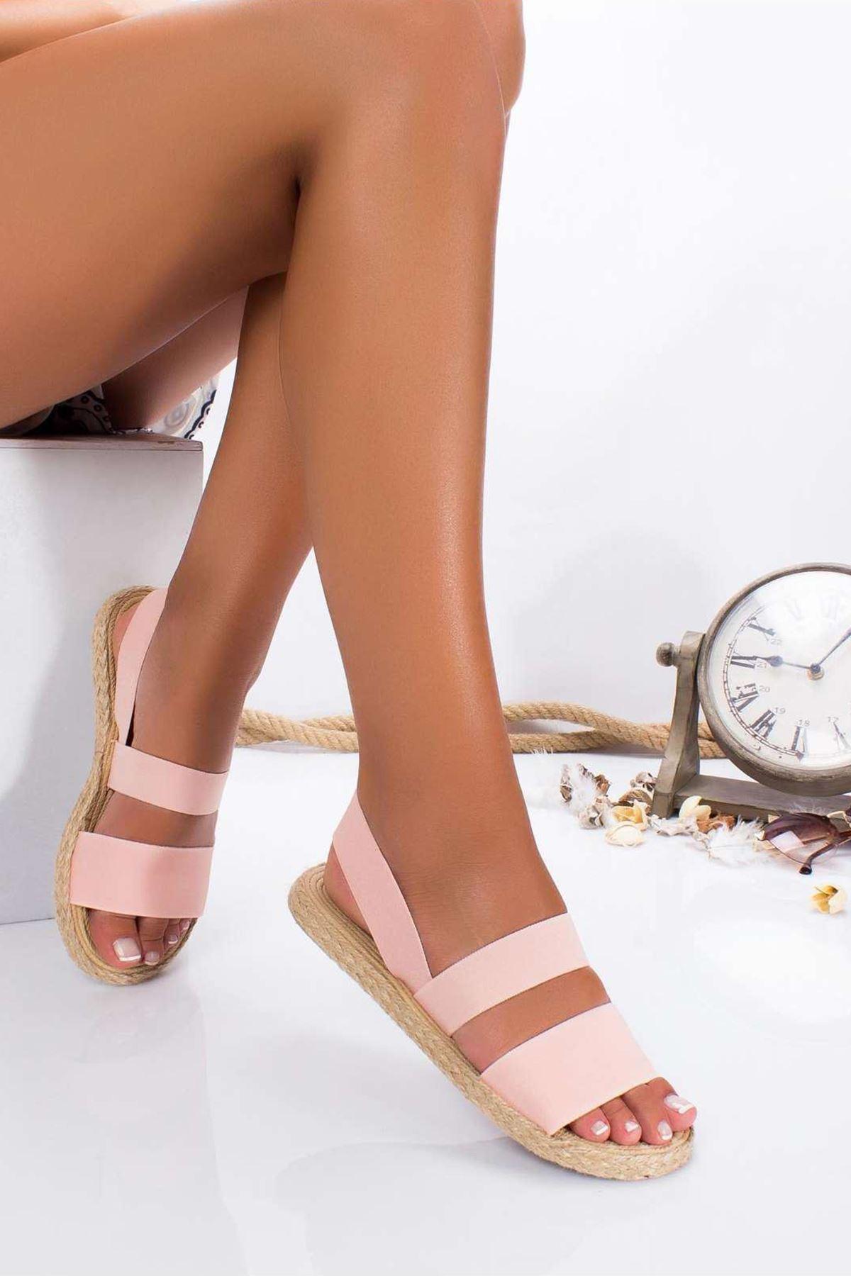 Asta Sandalet PEMBE