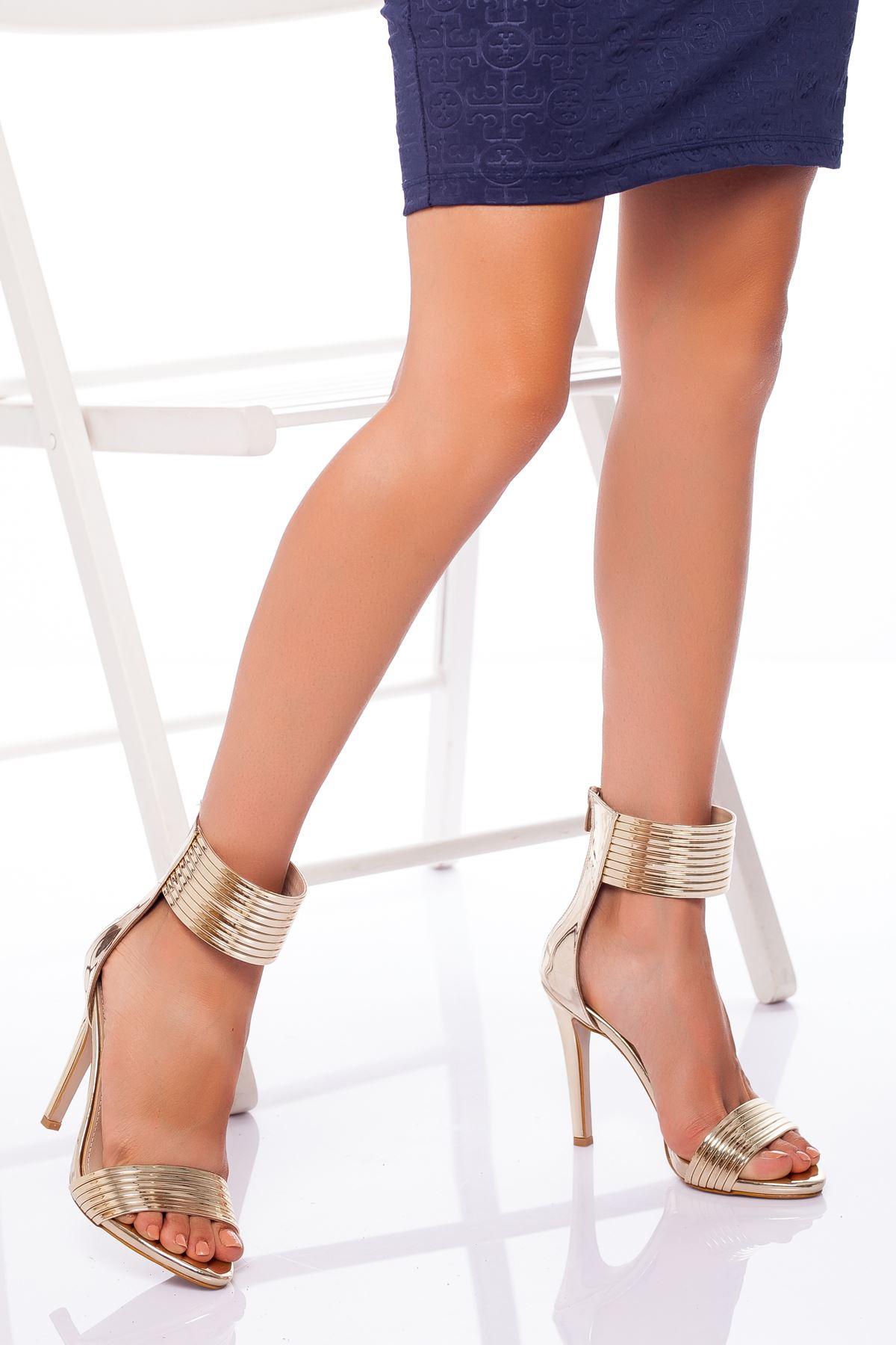 Devon Topuklu Ayakkabı GOLD