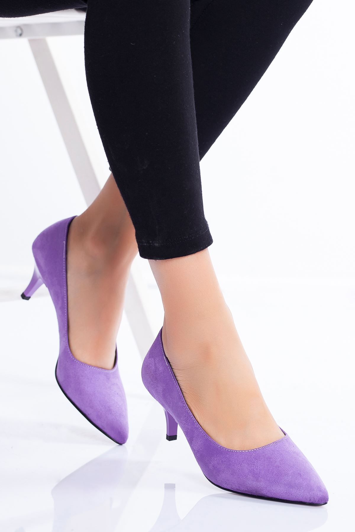 Abella Topuklu Ayakkabı LİLA