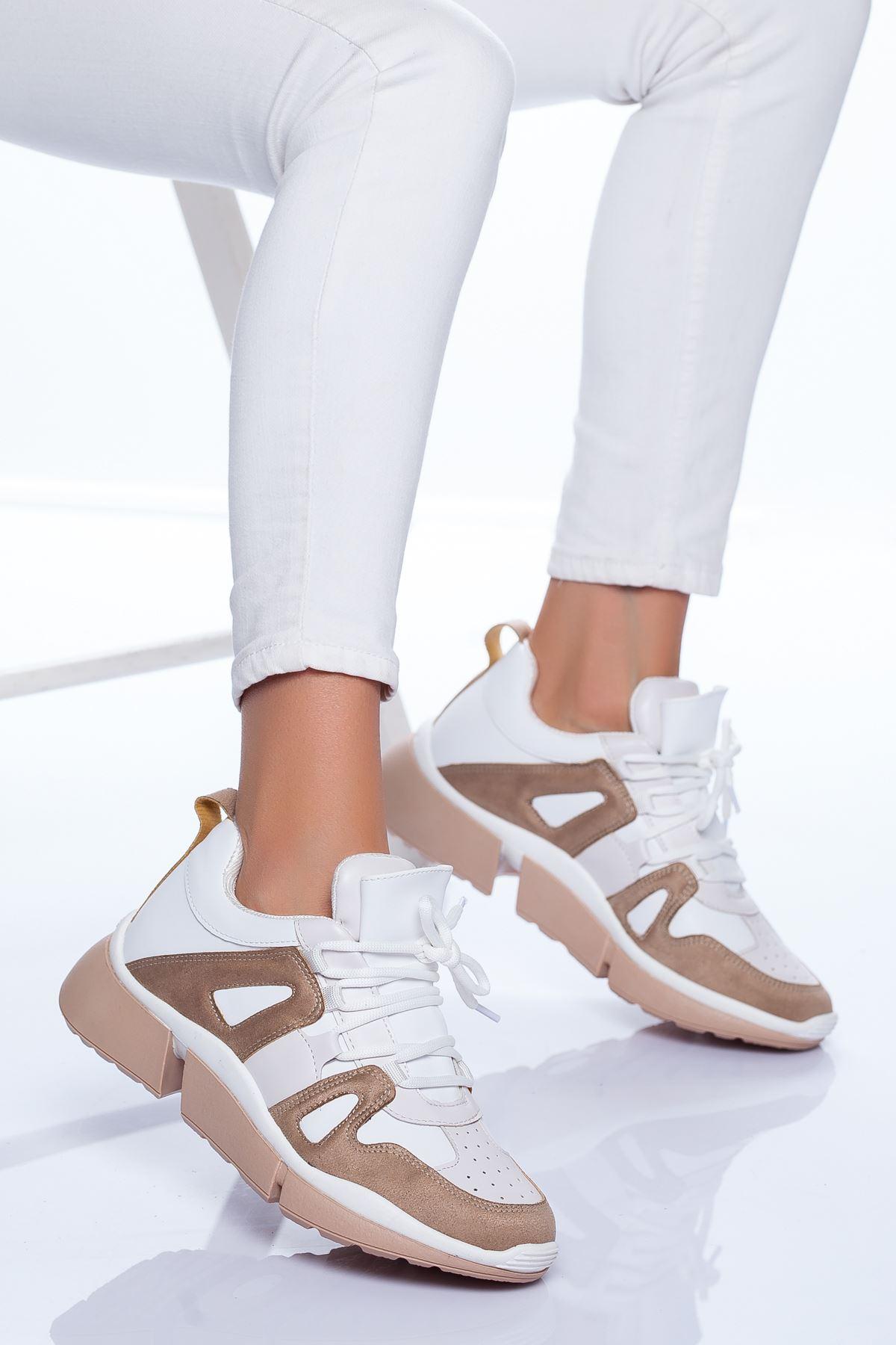 Toni Spor Ayakkabı BEYAZ