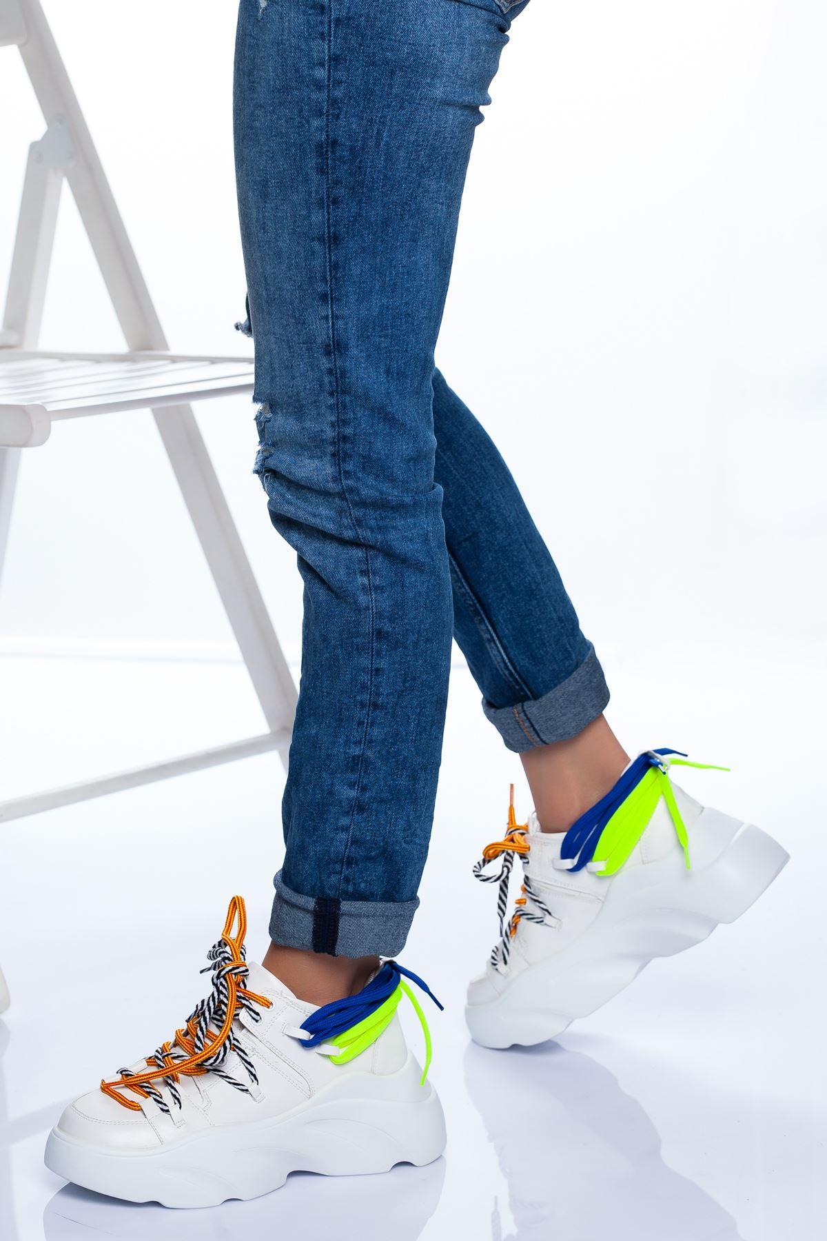 Nina Spor Ayakkabı BEYAZ