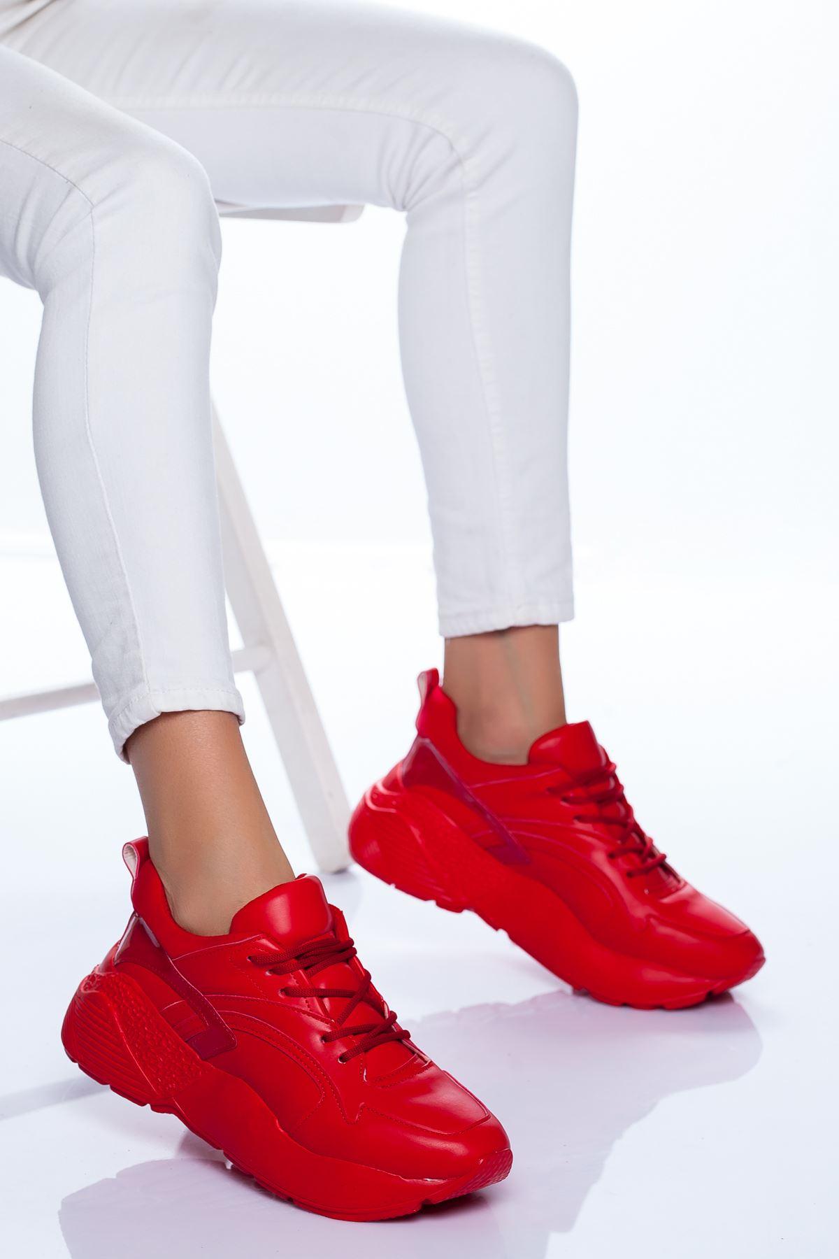 Sidney Spor Ayakkabı KIRMIZI