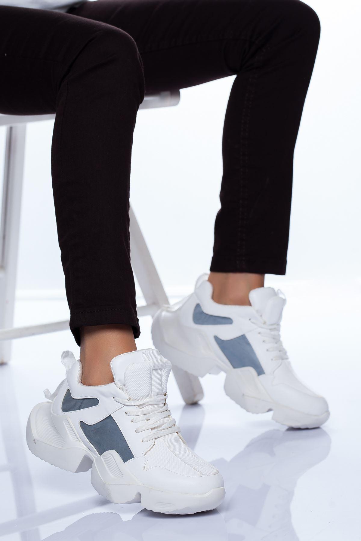 Dania Spor Ayakkabı BEYAZ