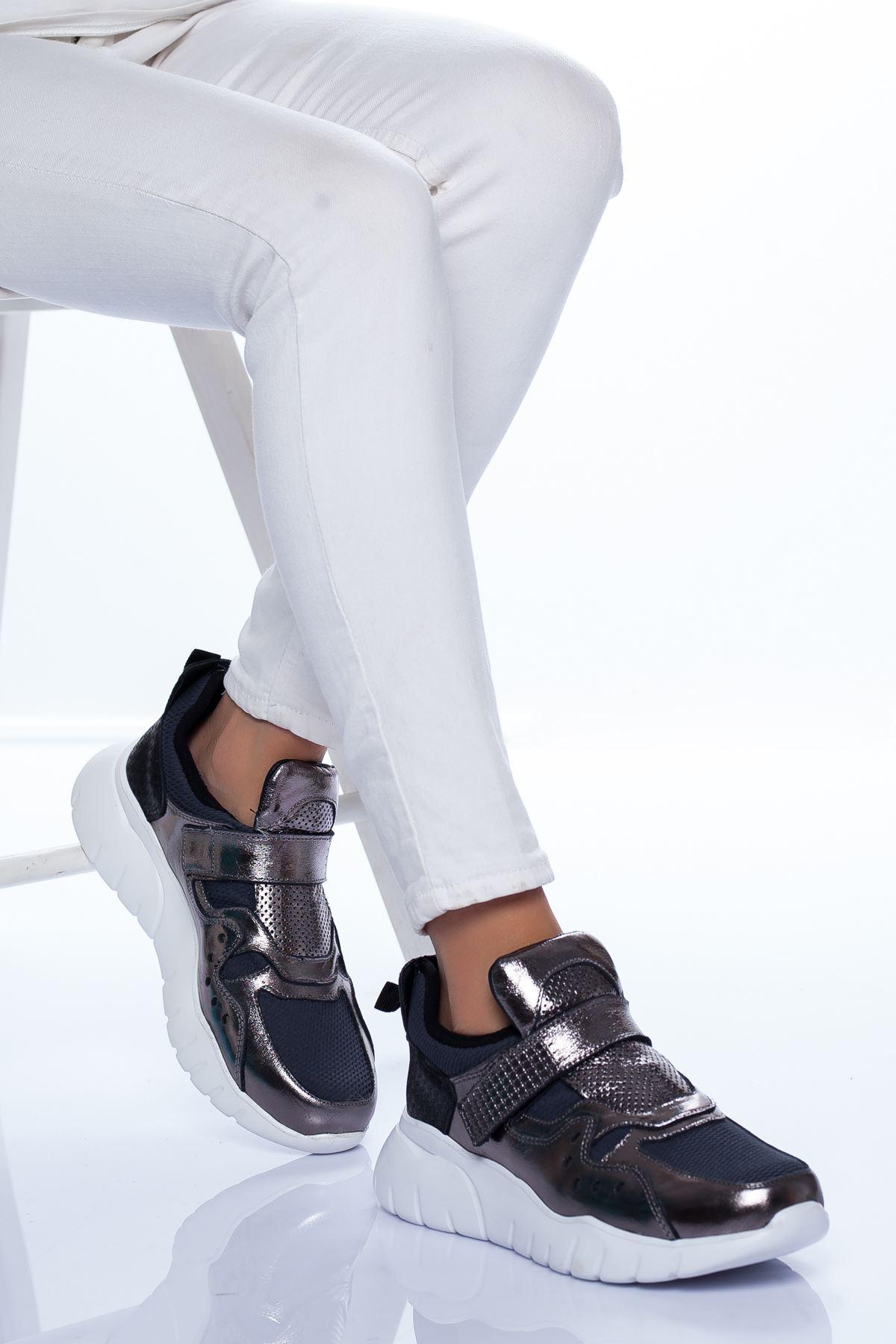Nicole Spor Ayakkabı PLATİN