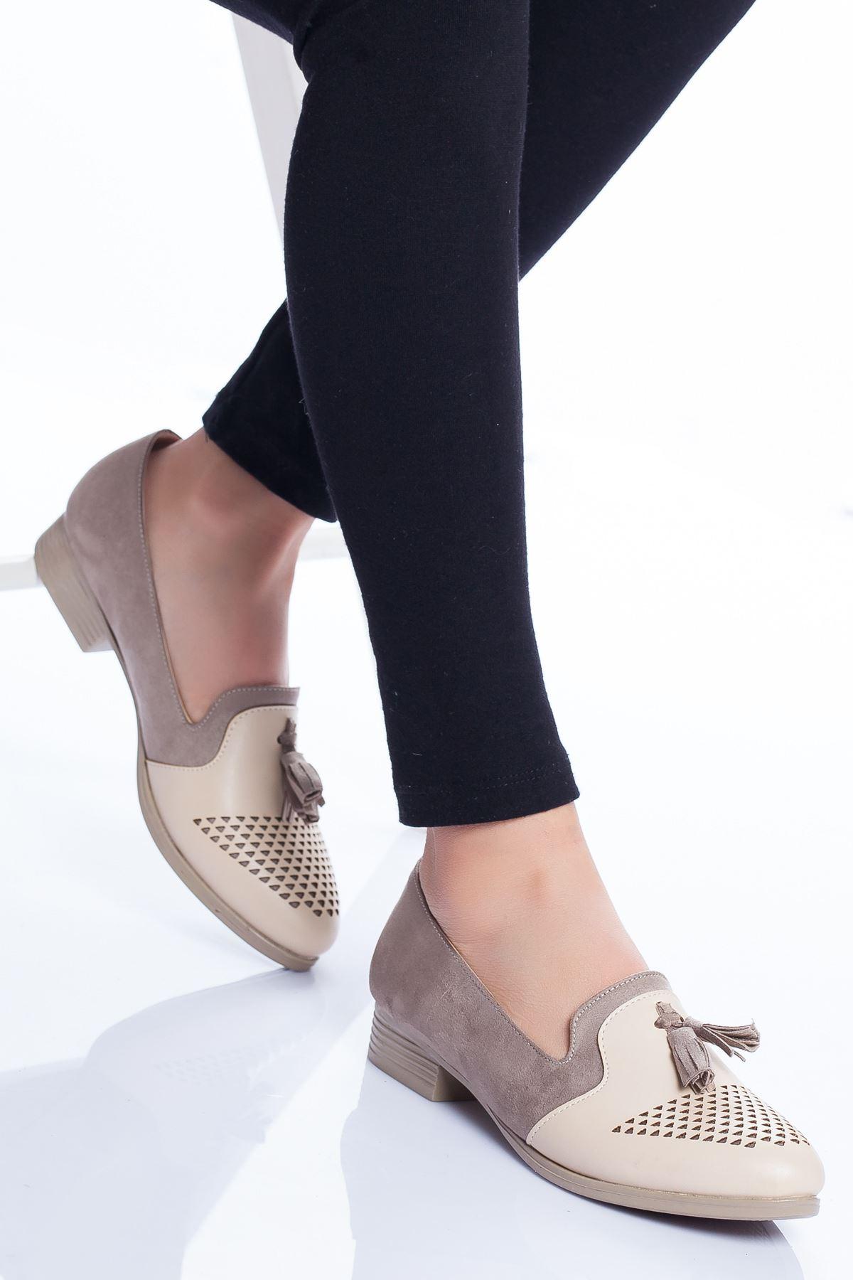 Logan Babet Ayakkabı VİZON SÜET