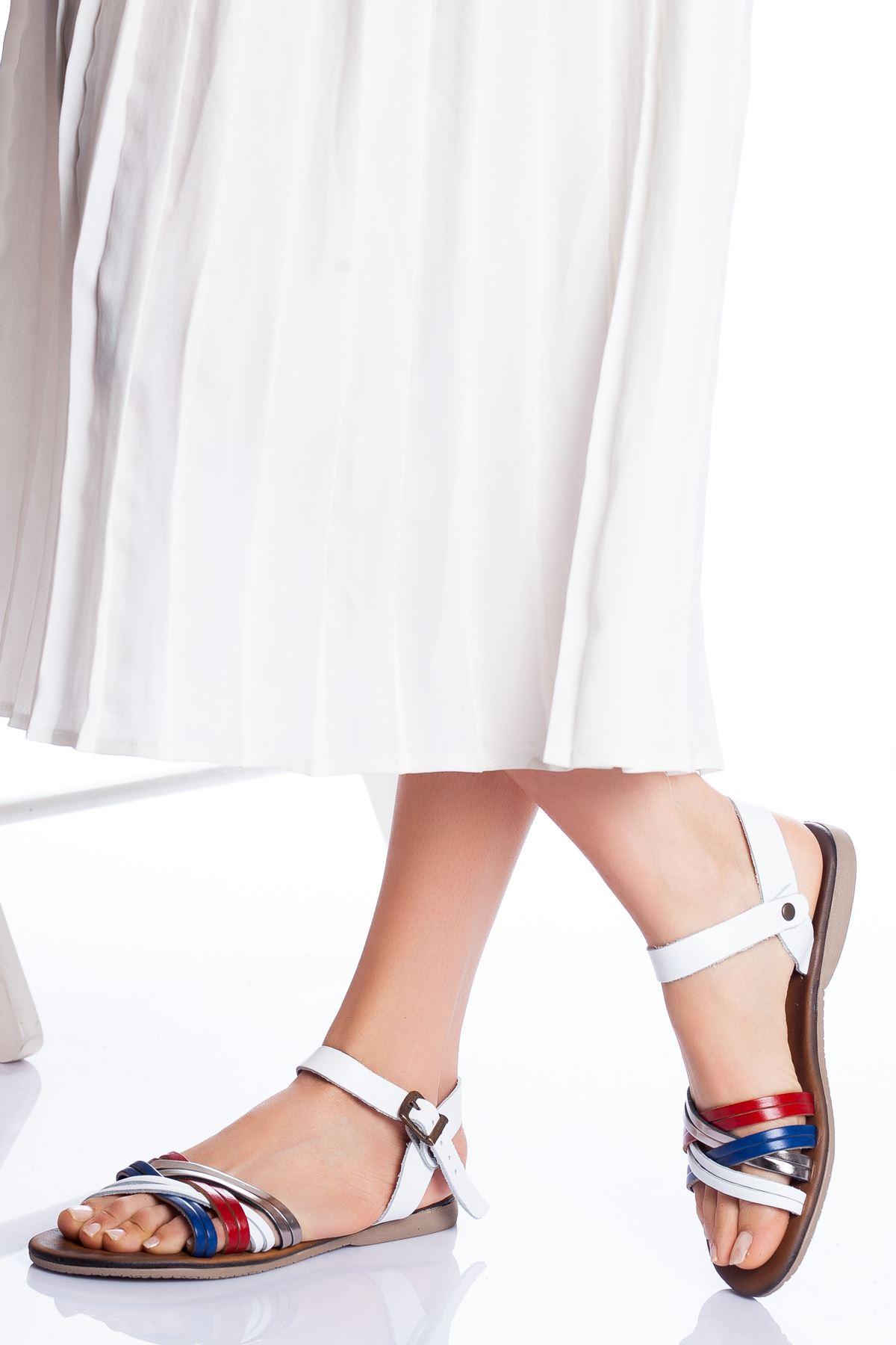 Dorel Hakiki Deri Sandalet TOMMY