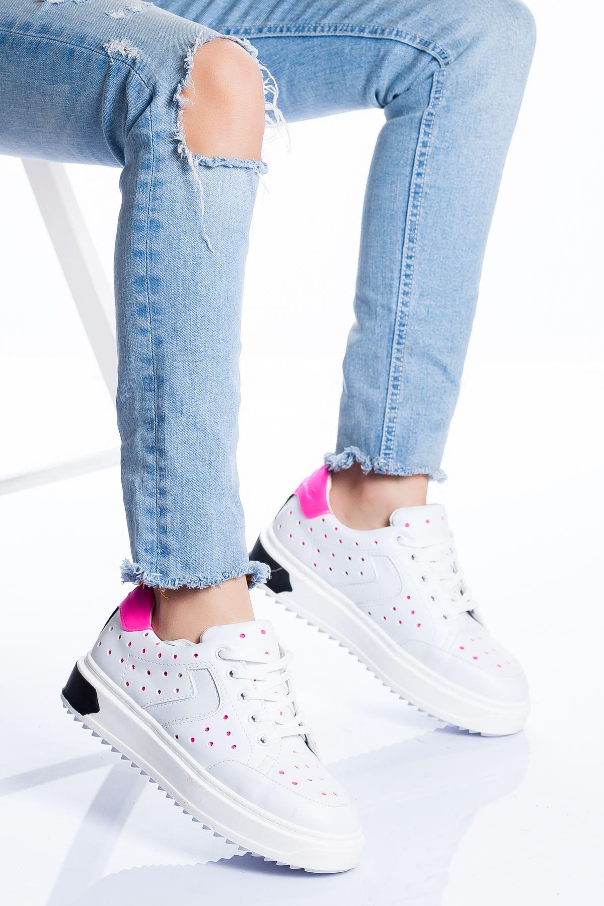Lisa Spor Ayakkabı BEYAZ