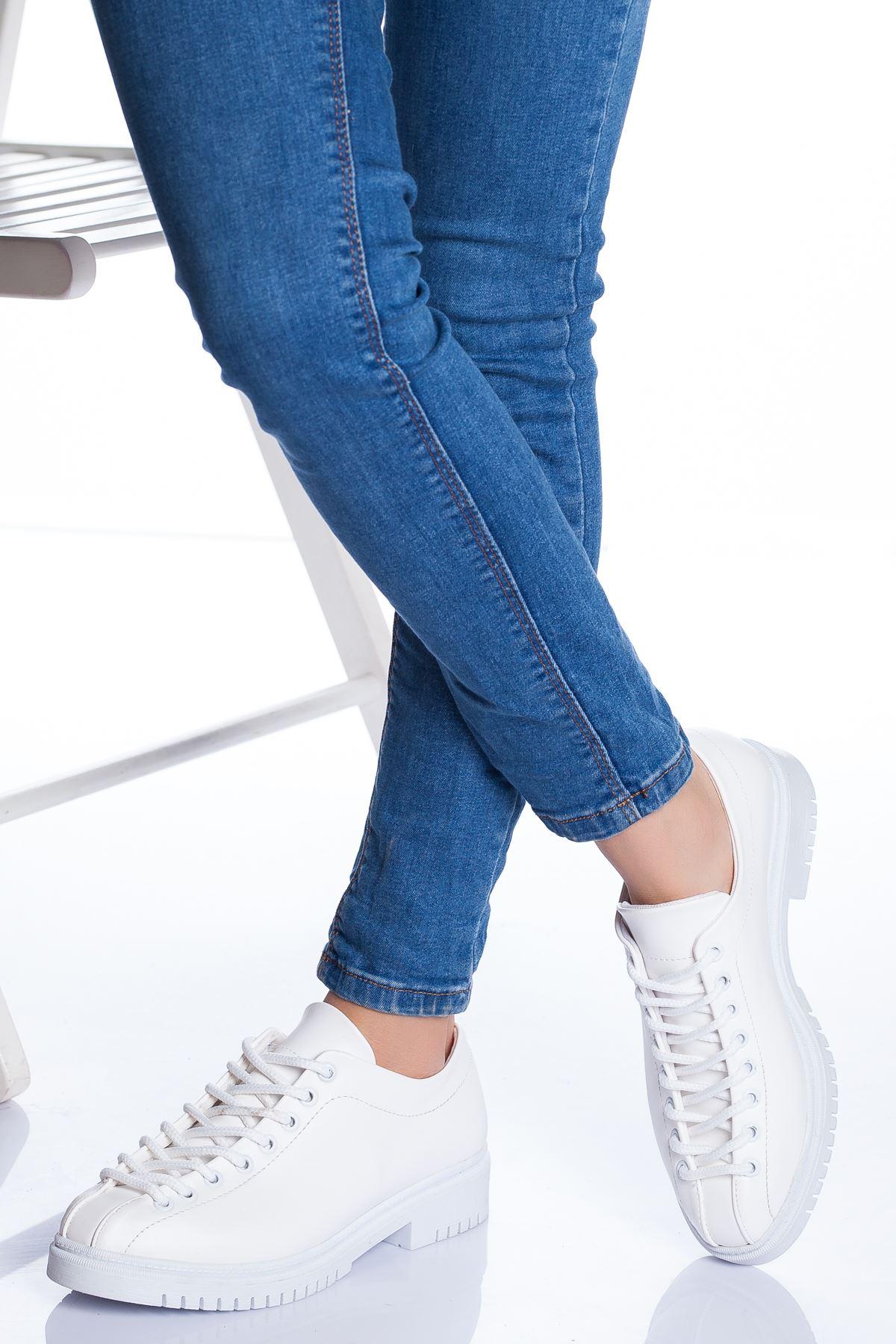 Tamara Ayakkabı BEYAZ CİLT
