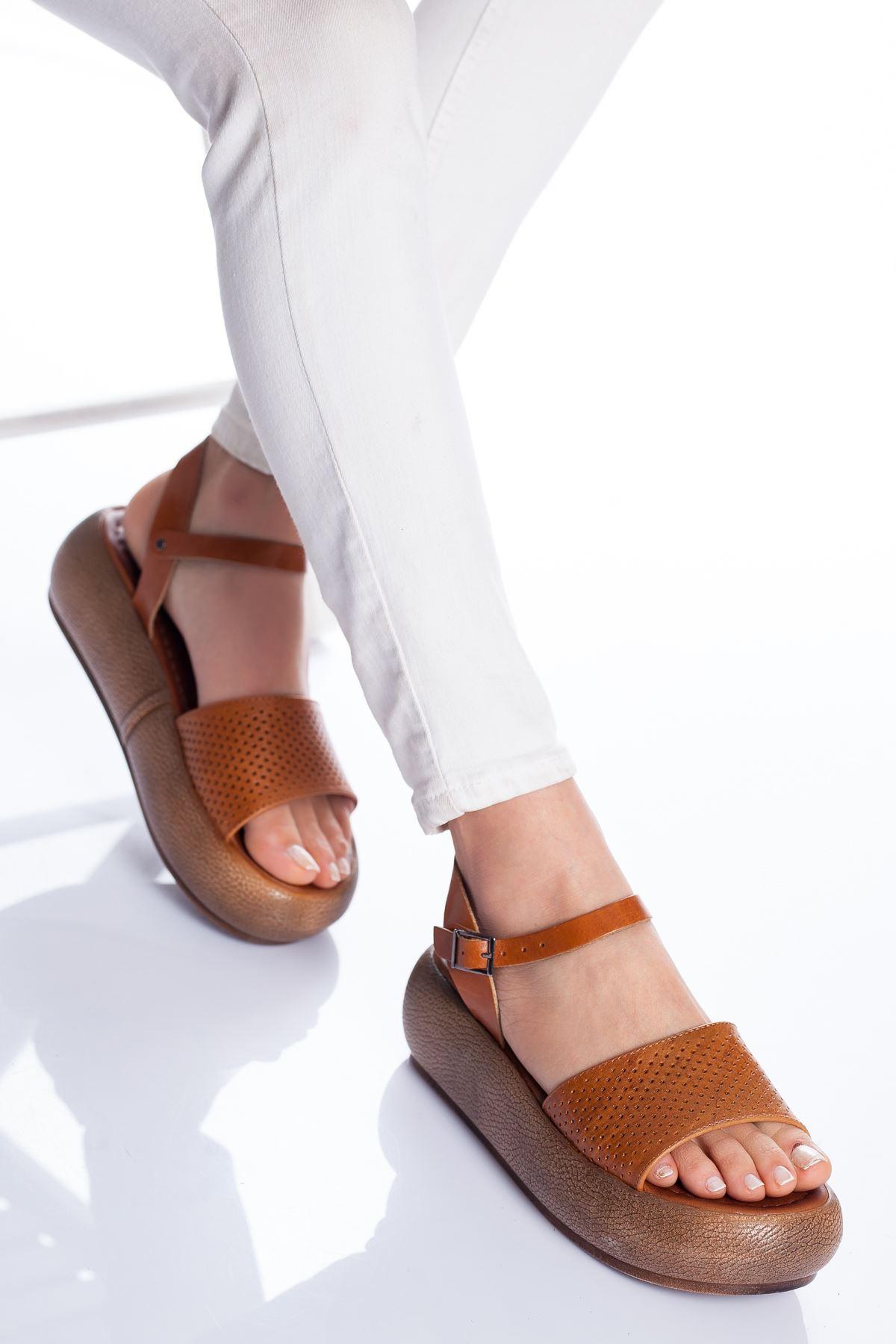 Loren Deri Sandalet TABA