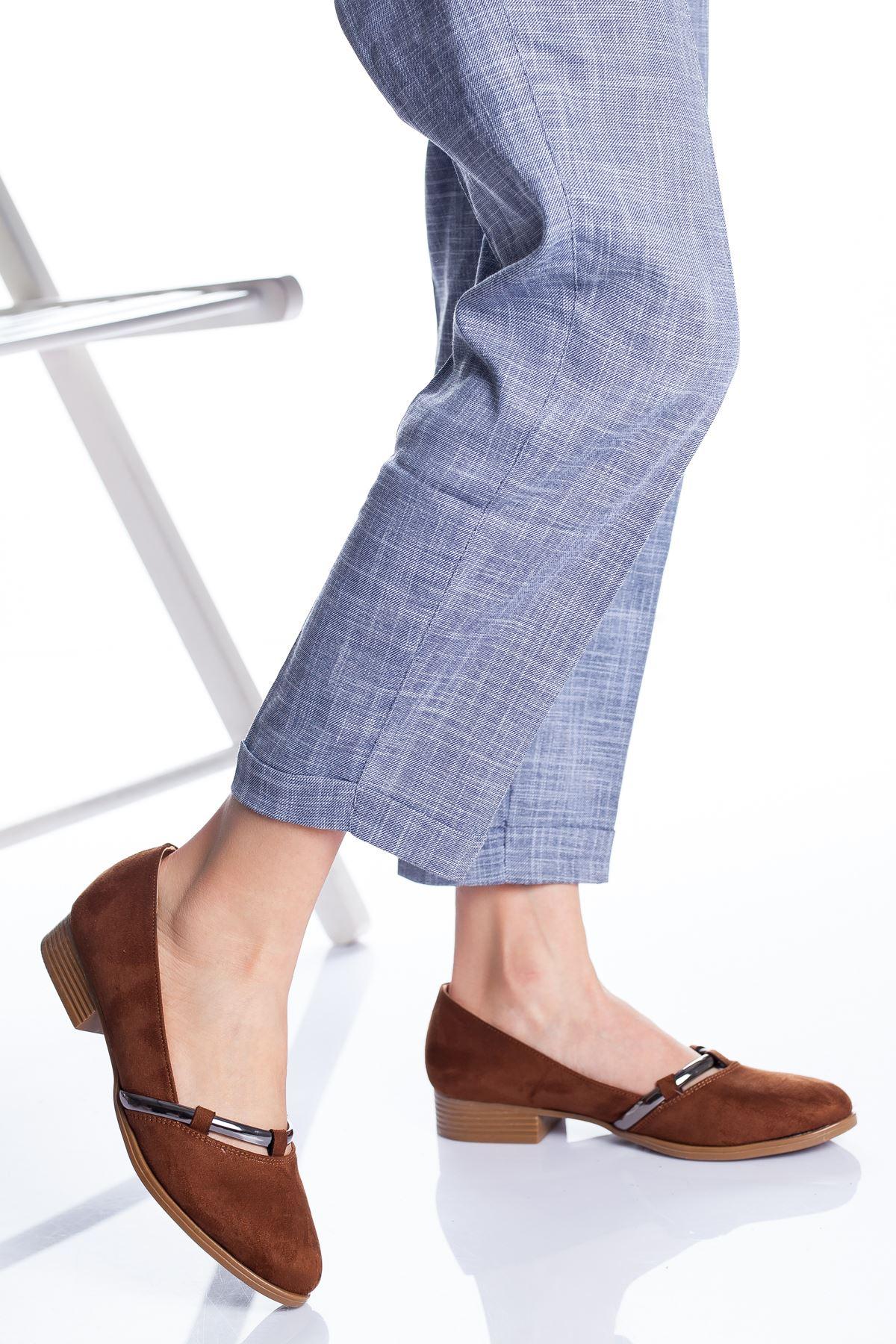 Wiste Babet Ayakkabı TABA SÜET