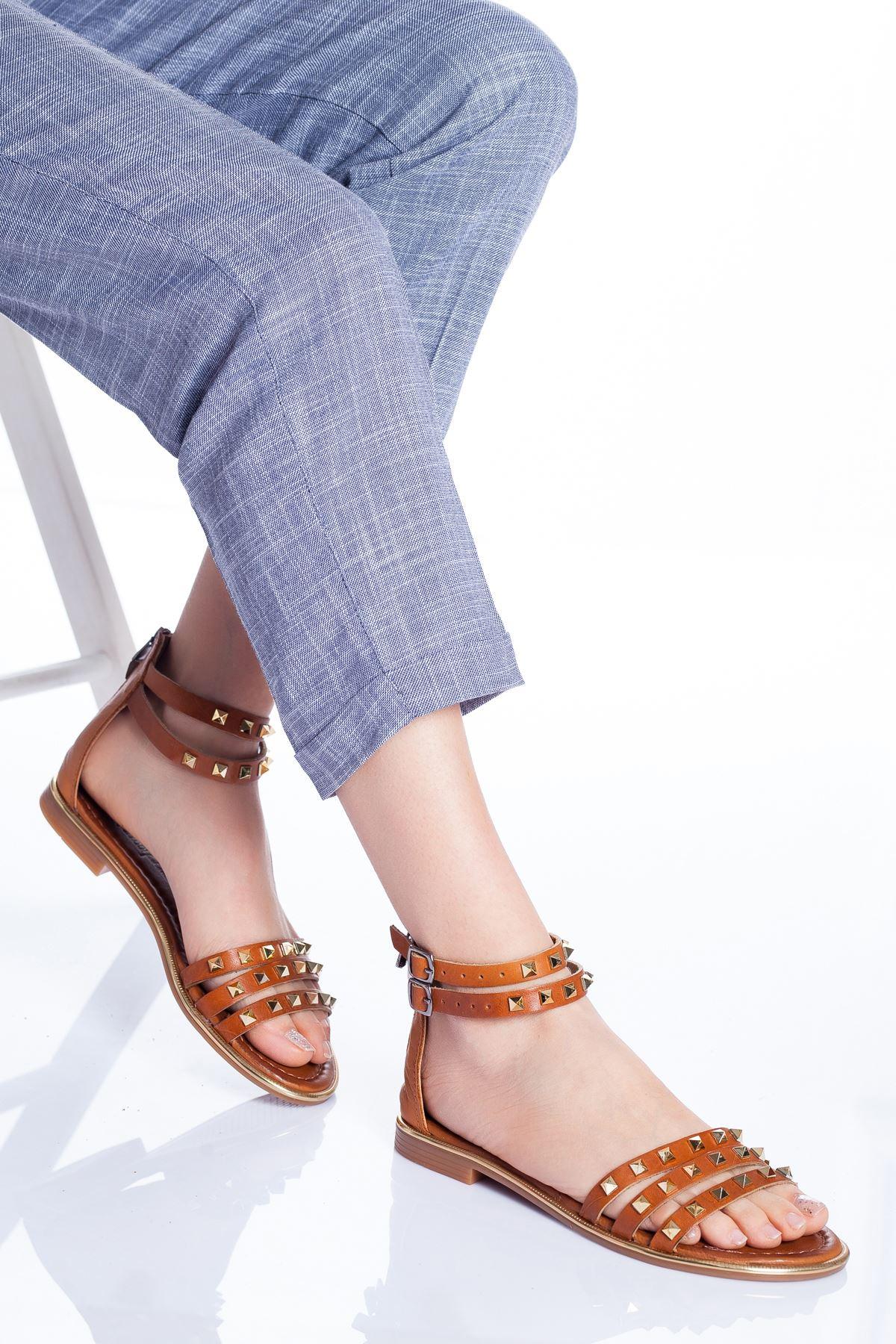 Orina Deri Sandalet TABA