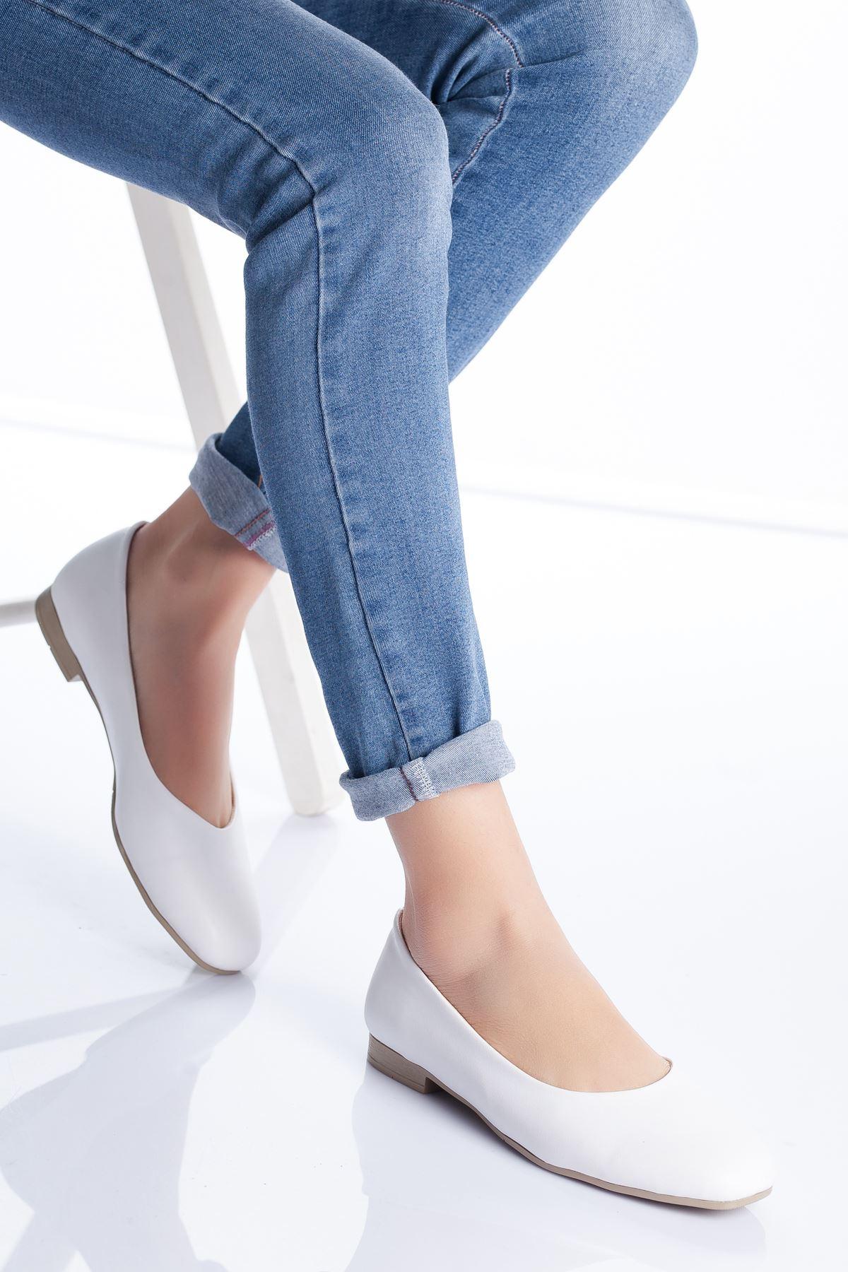 Zoya Babet Ayakkabı BEYAZ