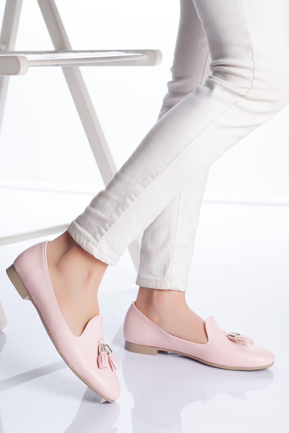 Kiya Babet Ayakkabı PEMBE