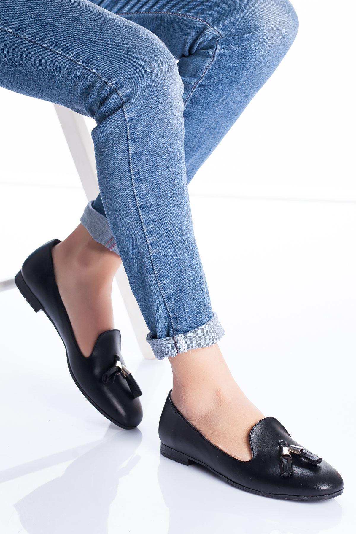 Kiya Babet Ayakkabı SIYAH